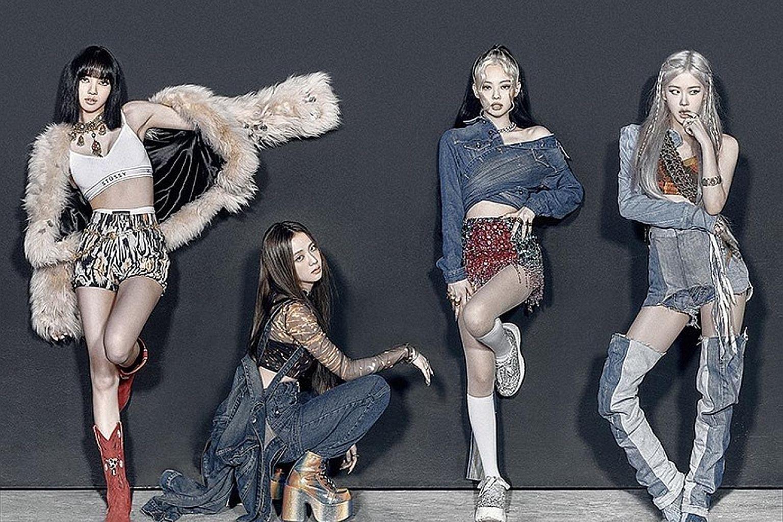 South Korean quartet Blackpink.