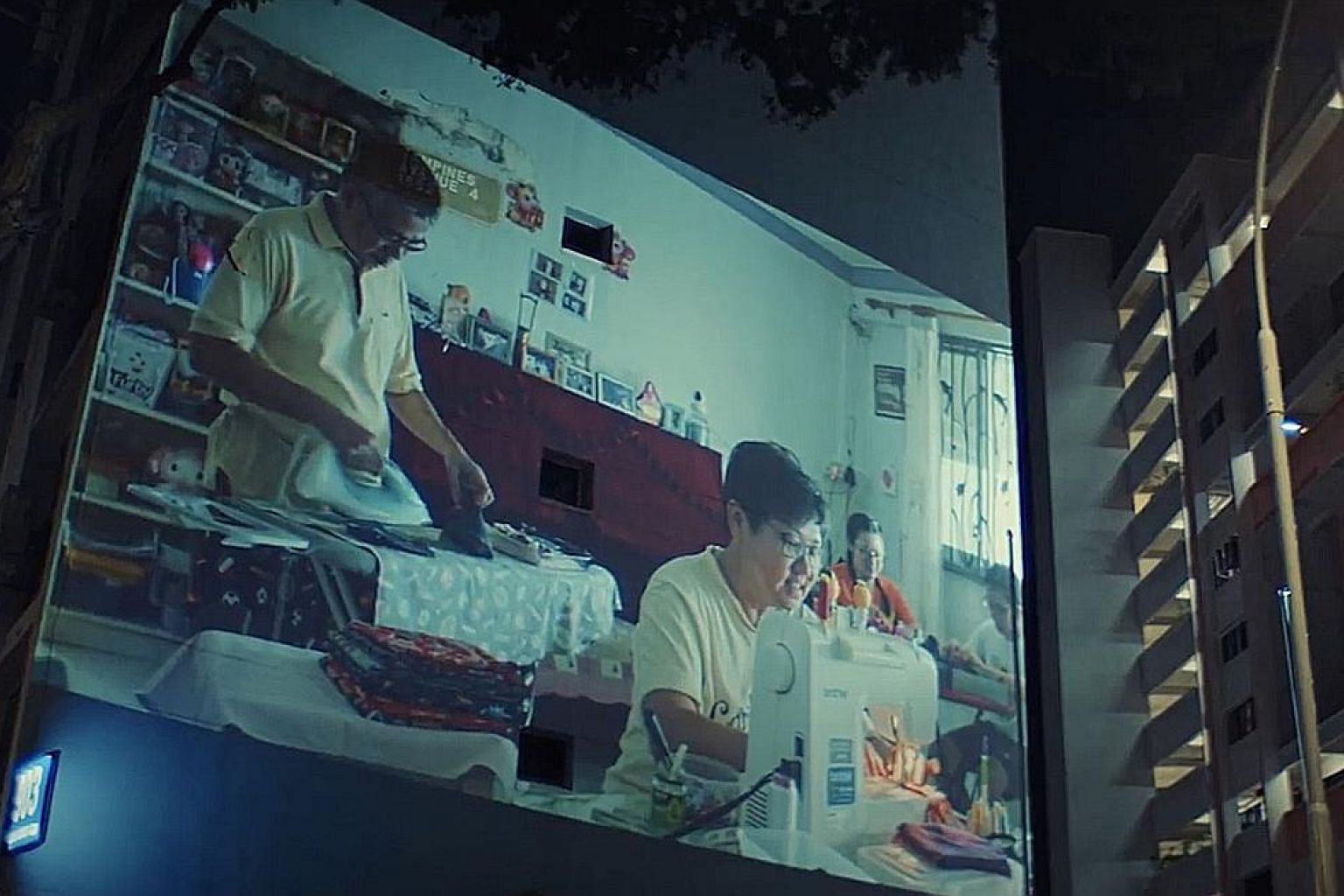 The video was filmed on the virtually empty streets of Singapore during the Covid-19 circuit breaker period and shows local landmarks such as the National Gallery Singapore and familiar locations like schools.