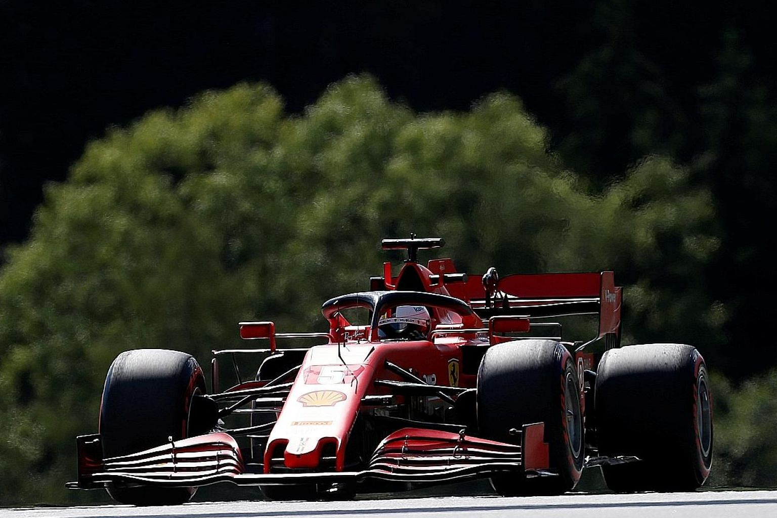 Despite Ferrari's Charles Leclerc finishing second last weekend, teammate Sebastian Vettel managed only 10th after qualifying 11th. Team boss Mattia Binotto admitted they are losing up to 0.8 seconds on the straights.