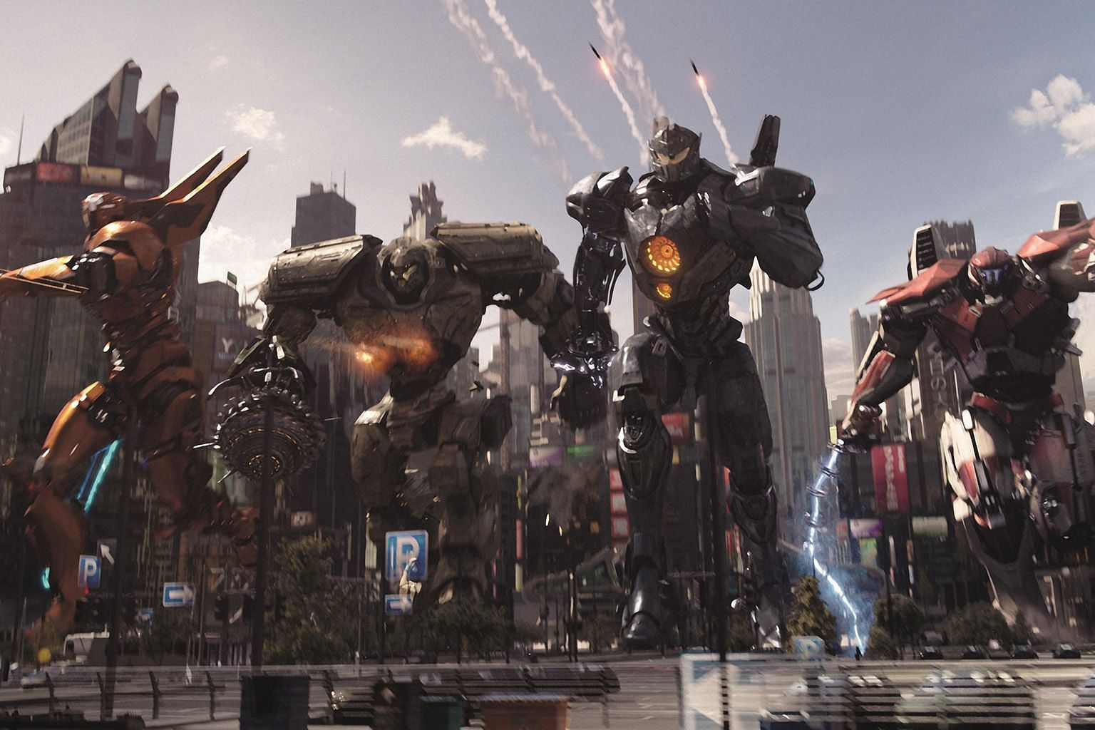 Films screening from Monday at various cinemas include re-releases such as action-science fiction film Pacific Rim: Uprising. PHOTO: UIP