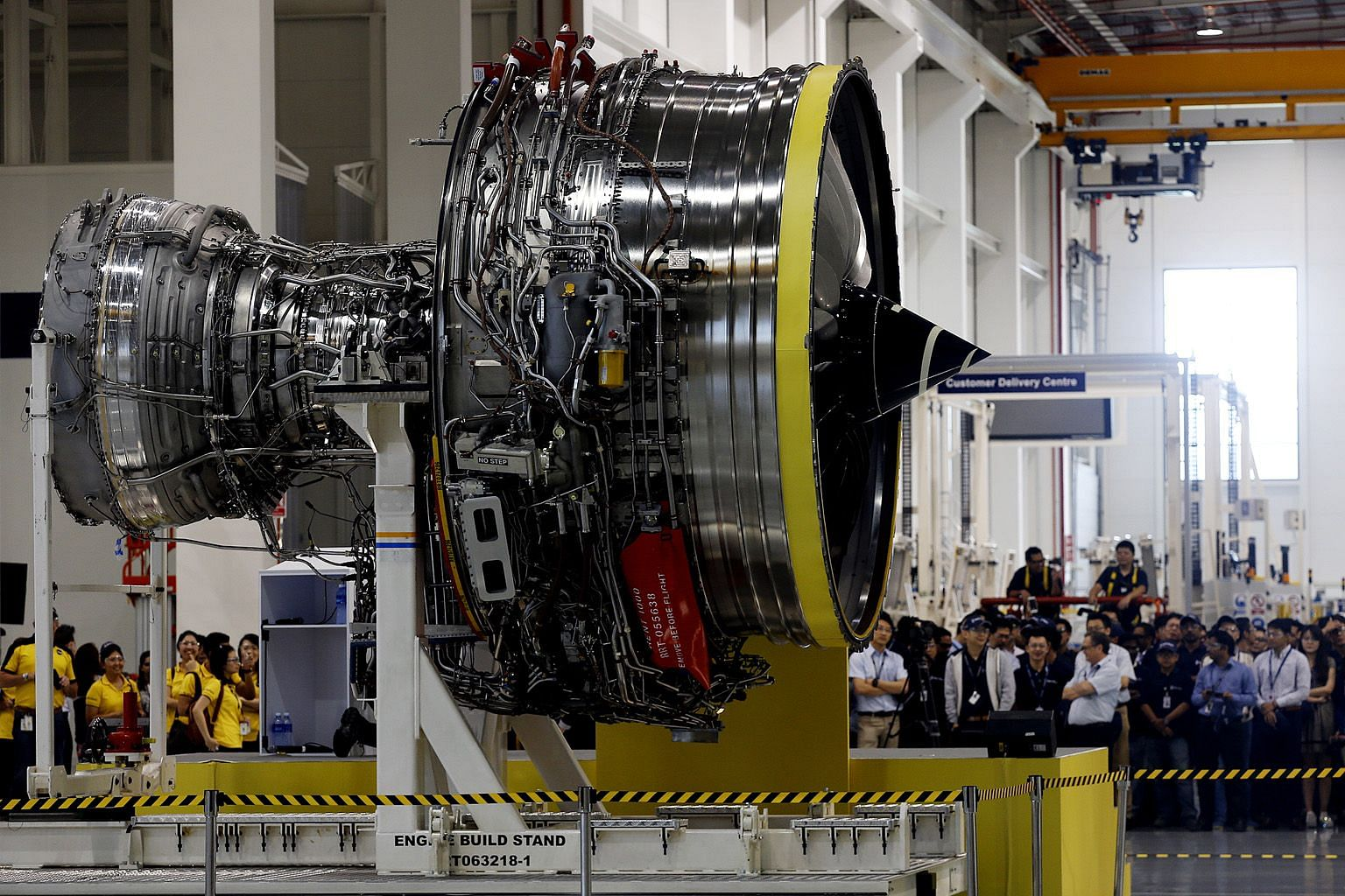The layoffs come after Rolls-Royce announced in May that it would slash at least 9,000 jobs worldwide. The engineering giant employs about 1,000 people here, and it said mostly technical roles will be affected. ST FILE PHOTO