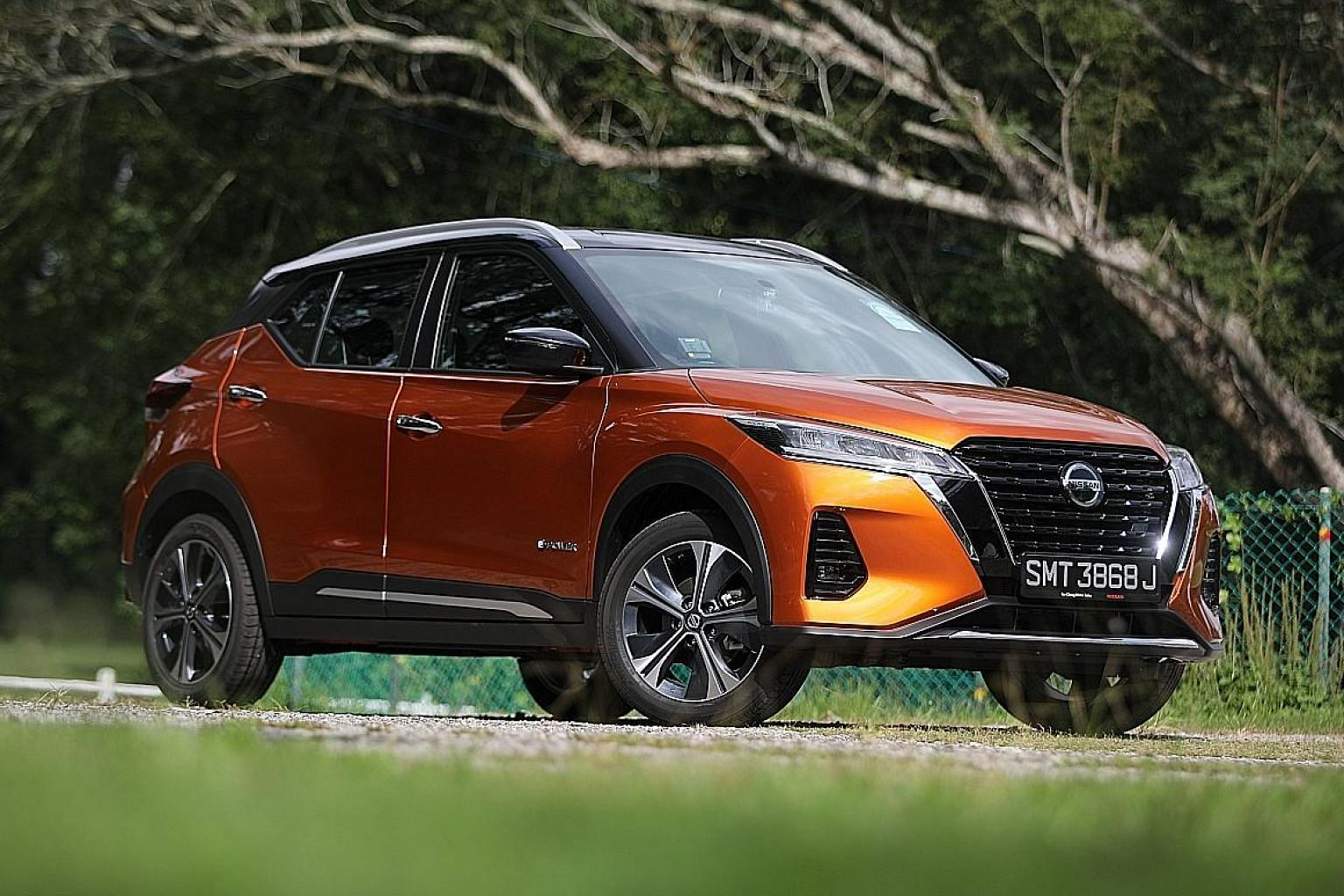 The Nissan Kicks e-Power has a minimalist but smartly laid-out cockpit, and comes across as contemporary and dynamic.