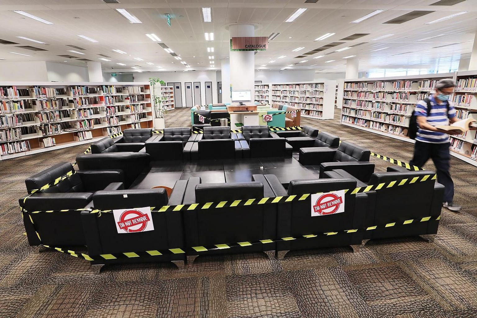 The Jurong Regional Library. During the circuit breaker, the National Library Board (NLB) seized the opportunity to experiment and try out new ideas, and drew much encouragement from public responses. It helped sharpen NLB's thinking for the Librarie
