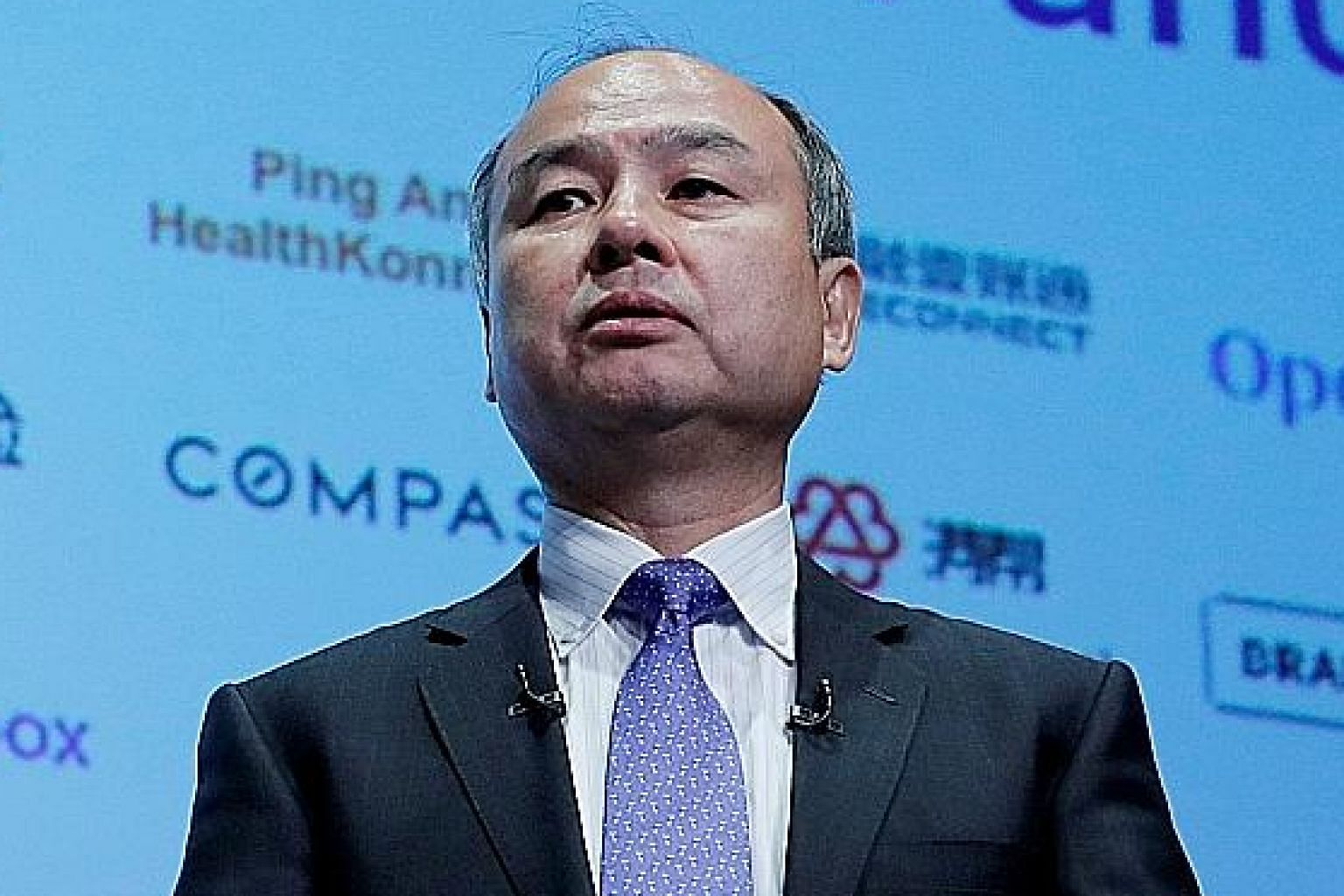 SoftBank founder Masayoshi Son's net worth has also grown to US$20 billion (S$28 billion).