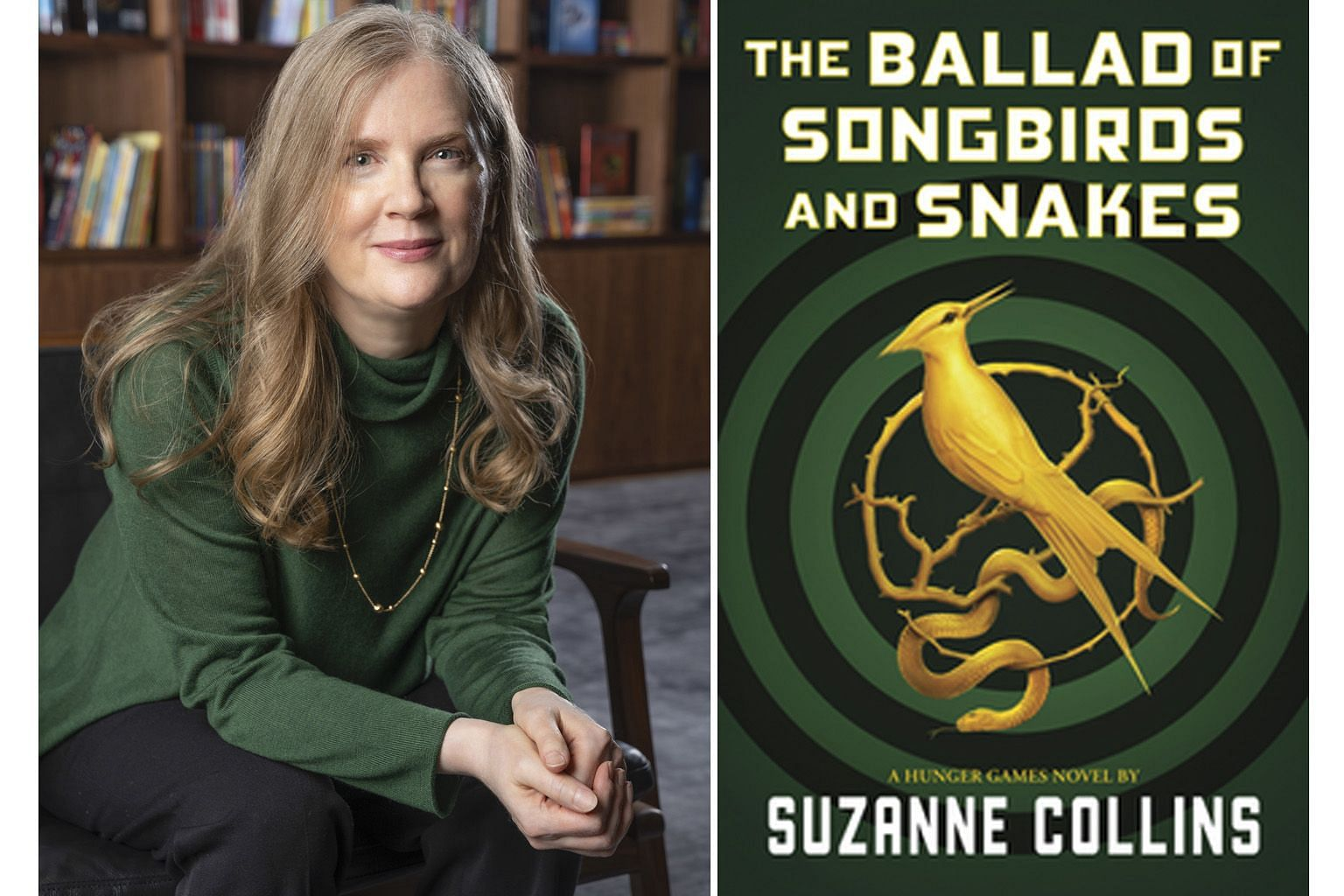 In The Ballad Of Songbirds And Snakes (above) by Suzanne Collins (left), Coriolanus Snow is a teenage Machiavelli in dire straits.
