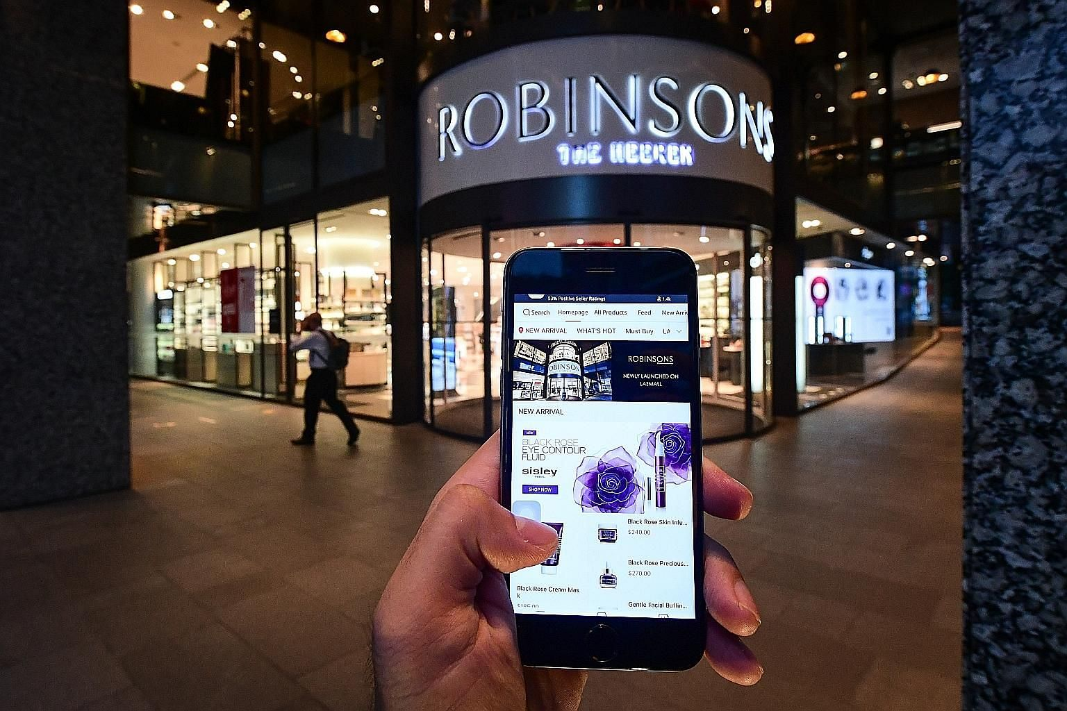 Robinsons went live with added storefronts on Lazada in April, while Metro partnered the e-commerce platform in November last year during the Black Friday sale. Both department stores have their own websites.