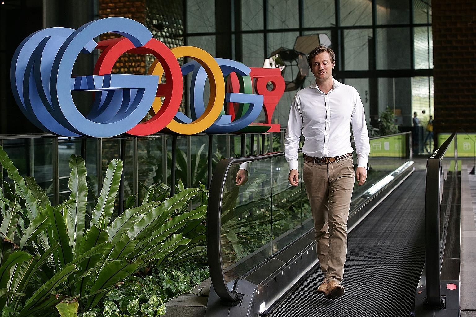 Google Singapore country director Ben King says the vocational training programme will equip participants with skills that will allow them to work for companies in Singapore's broader tech ecosystem, enhancing the talent available to firms here. ST F