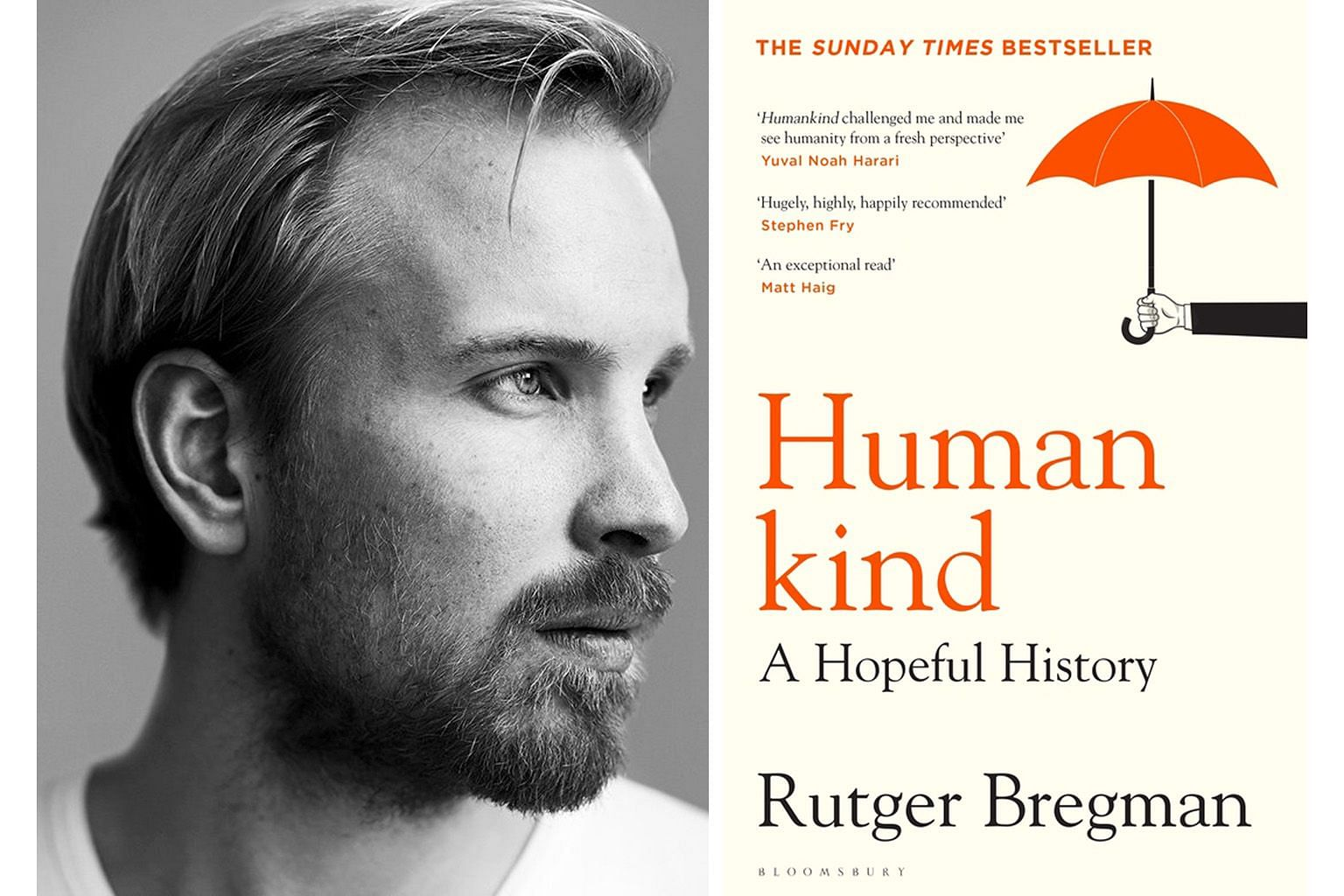 Author Rutger Bregman's Humankind is chock-full of examples of how people band together in the face of crises.