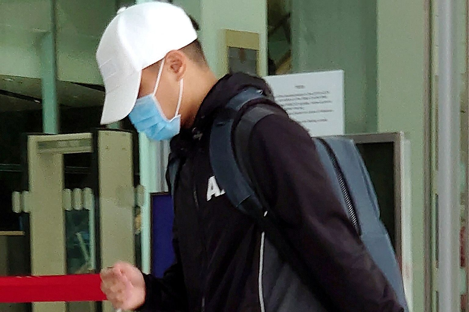 Student Yin Zi Qin was sentenced last Friday to a short detention order of 12 days and 80 hours of community service. Many observers have criticised the outcome of the case, believing the punishment was disproportionate to the offence. ST PHOTO: WONG