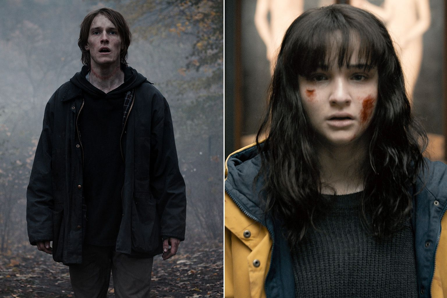 Was It Love? stars Song Ji-hyo (centre) as a film producer who finds multiple men vying for her attention. German series Dark, which is back for its third and final season, stars Louis Hofmann (left) and Lisa Vacari (above) as time-hopping teenagers
