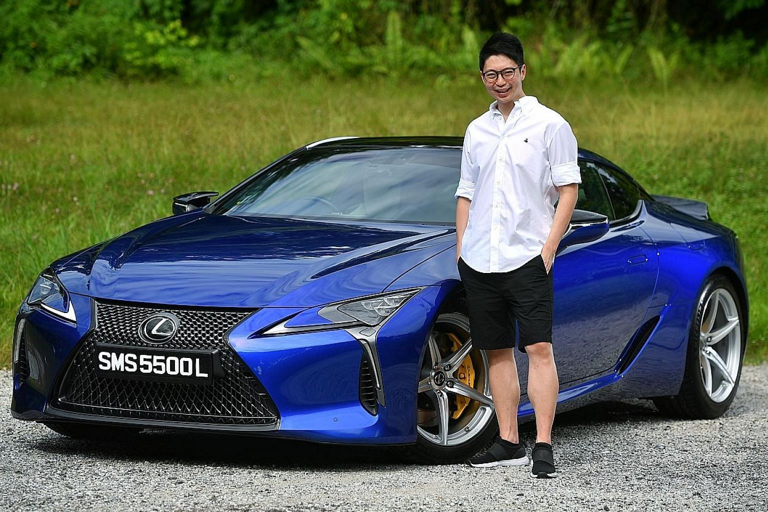 Mr Tom Chen, managing director of an investment firm in the marine logistics industry, paid between $300,000 and $400,000 for the Lexus LC500 and says it is a good buy.