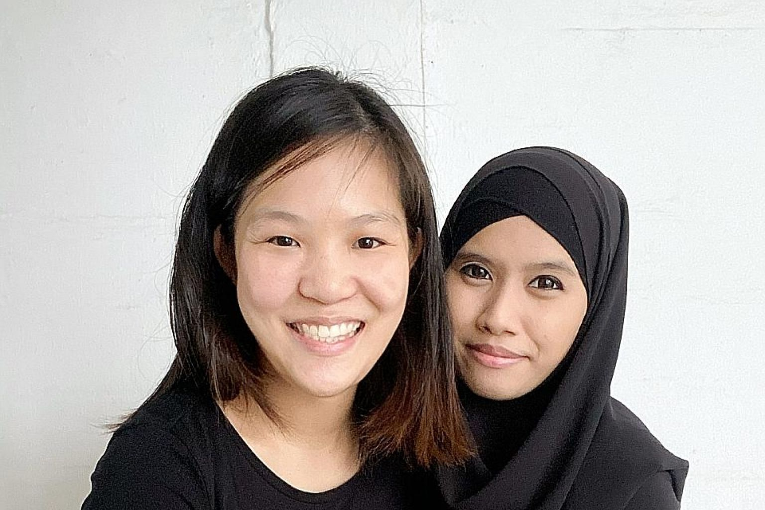 Ms Samantha Kwan helped five mothers, including Madam Siti Khadijah (both right), launch home businesses. She set up an order platform, managed deliveries and got a friend to create visual assets such as photos and videos that could be used on social