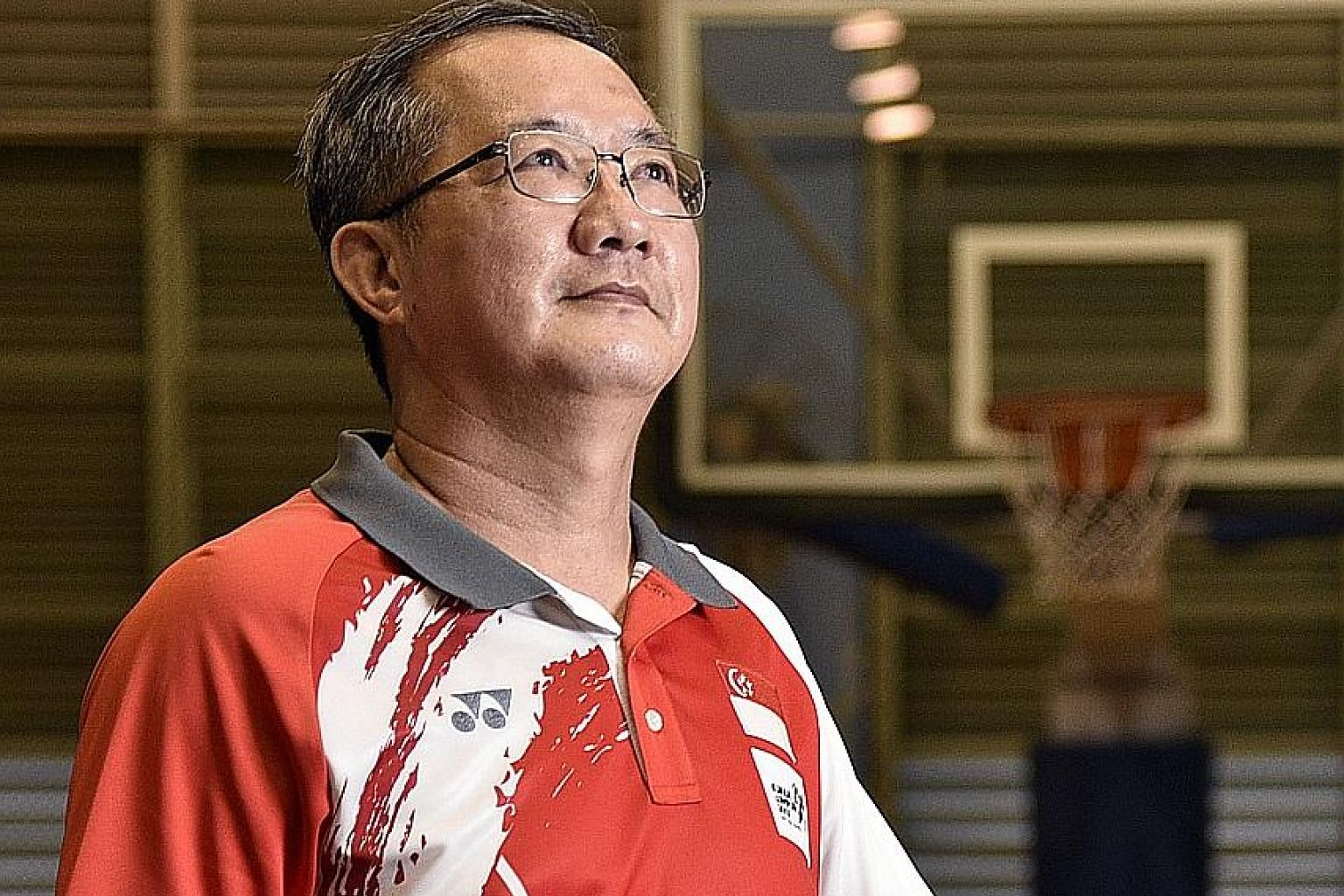 Neo Nam Kheng is upbeat about emerging talent in the Singapore basketball scene. The new national coach is eyeing a medal at next year's SEA Games in Vietnam. Singapore last earned one in 2015 at home.