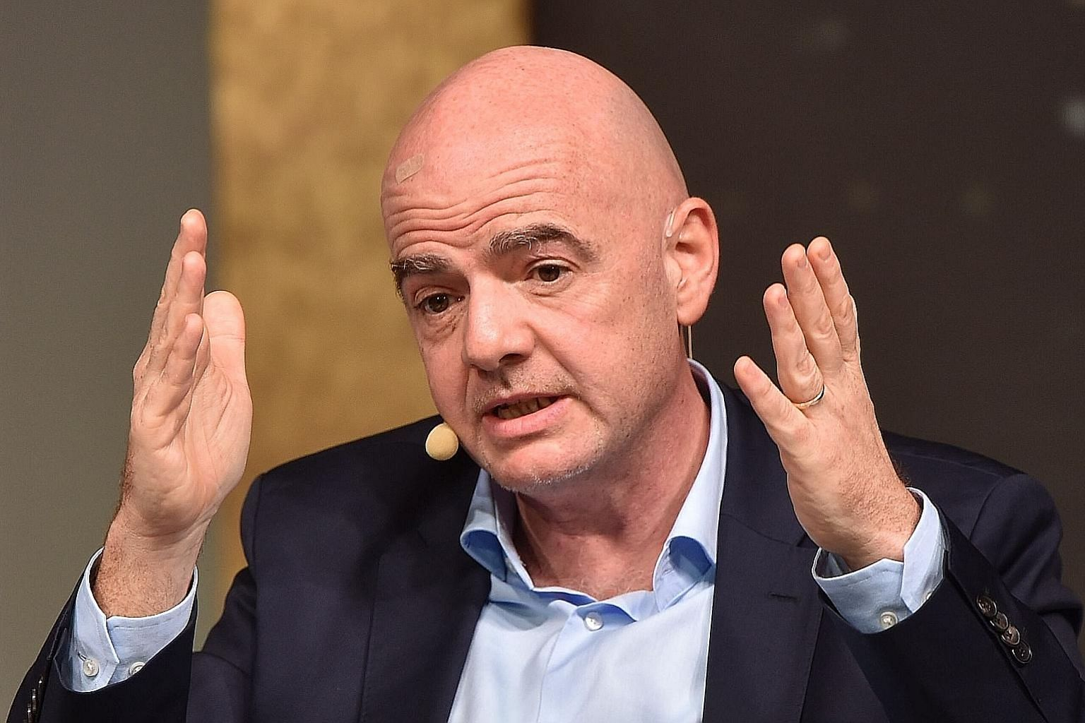 Gianni Infantino had vowed to clean up scandal-plagued Fifa when he was first elected its president in 2016.