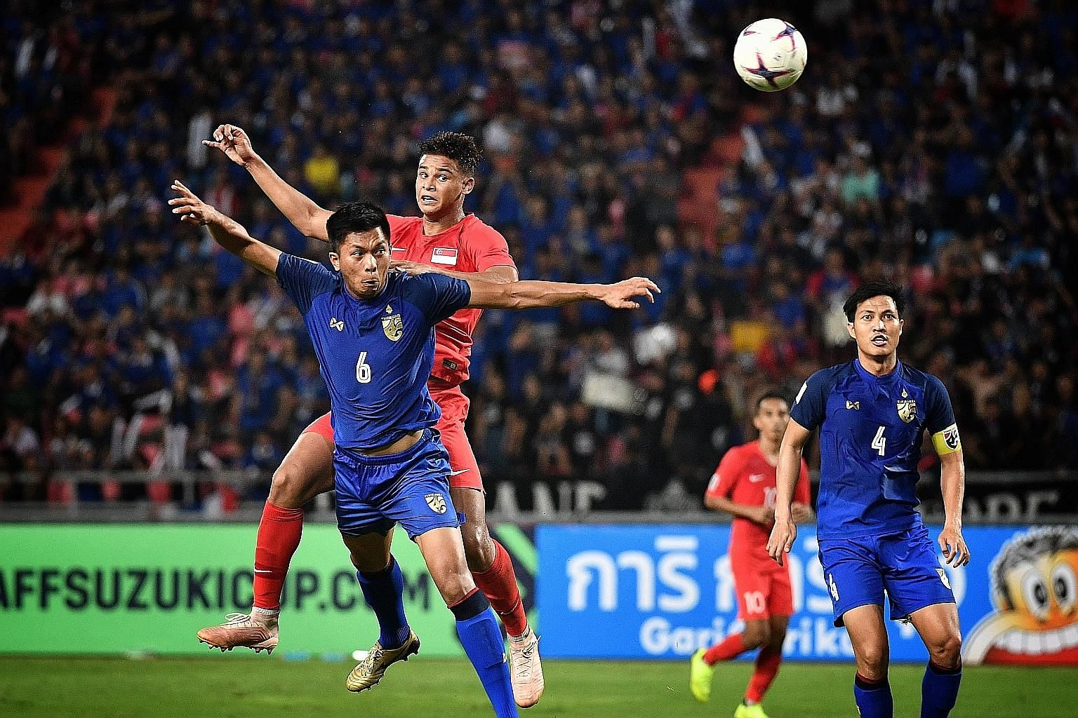 Singapore's Irfan Fandi and his teammates will be aiming to end a poor run at the Suzuki Cup - the Lions have not made it past the group stage into the two-legged semi-finals in the three editions since they last won the tournament in 2012 - when the