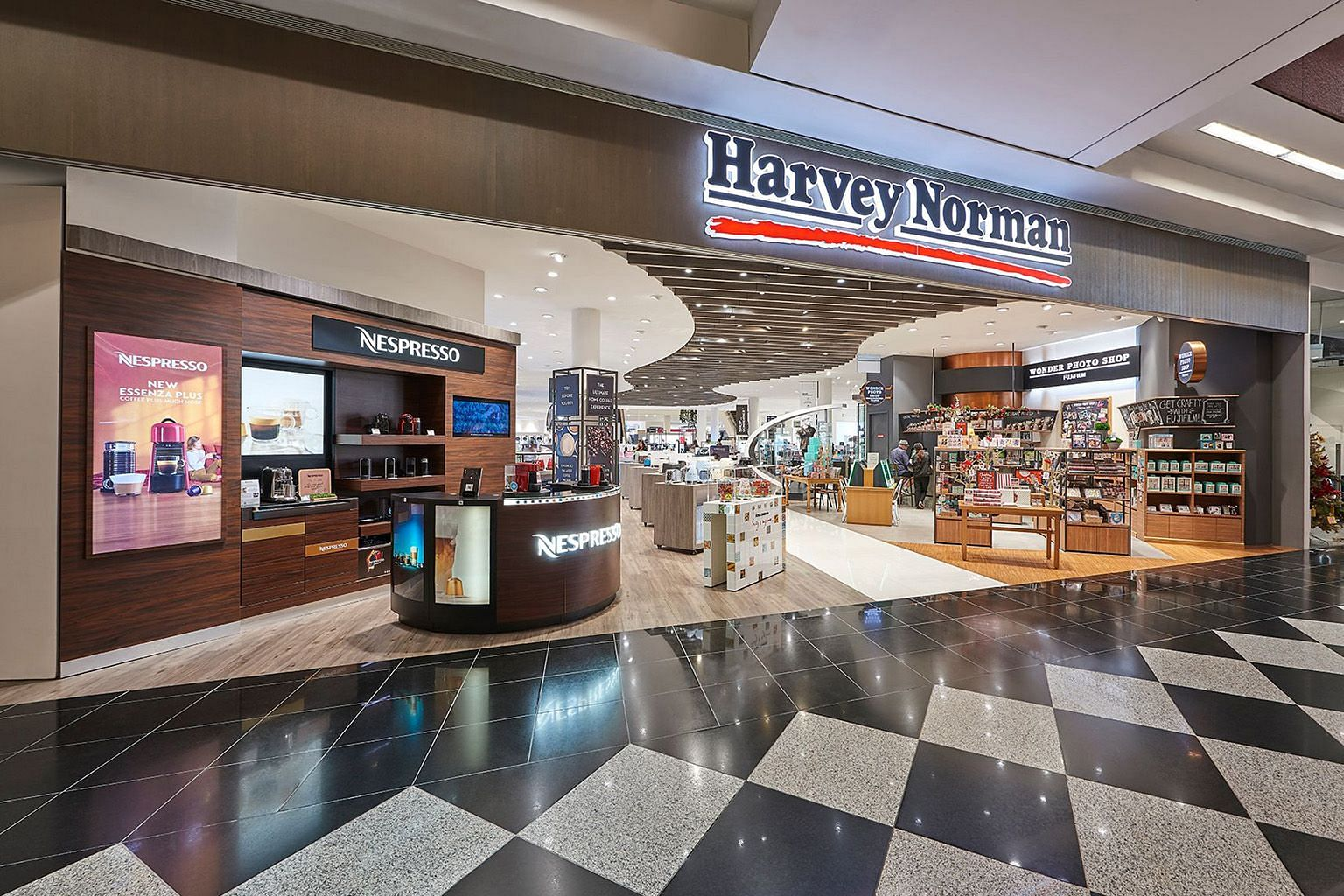 Electronics retailer Harvey Norman will be setting up a microsite offering computers and printers that students can purchase using their $500 e-grant from The Straits Times School Pocket Money Fund.