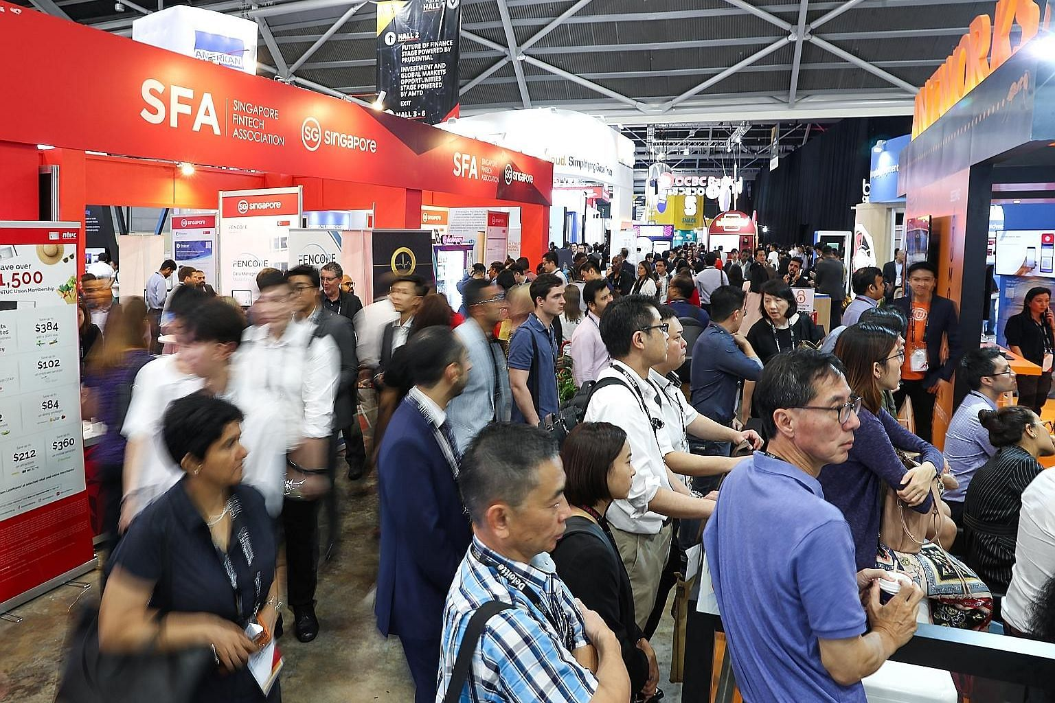About 60,000 people from 140 countries attended the inaugural Singapore FinTech Festival (SFF) x the Singapore Week of Innovation and TeCHnology (SWITCH) at Singapore Expo last year. This year's hybrid affair, which will allow participants to attend