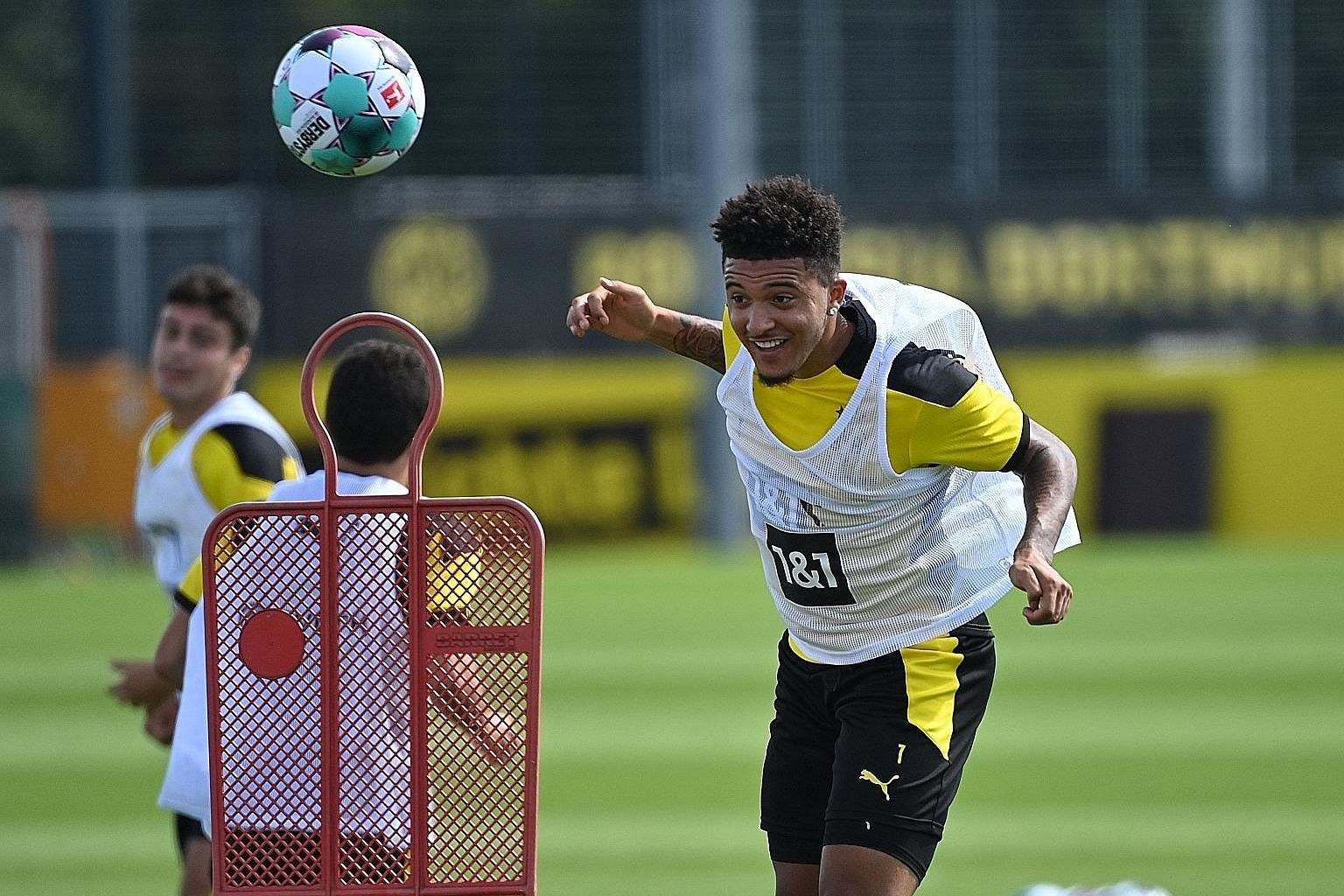 Borussia Dortmund's Jadon Sancho could be making a big money move to Manchester United.