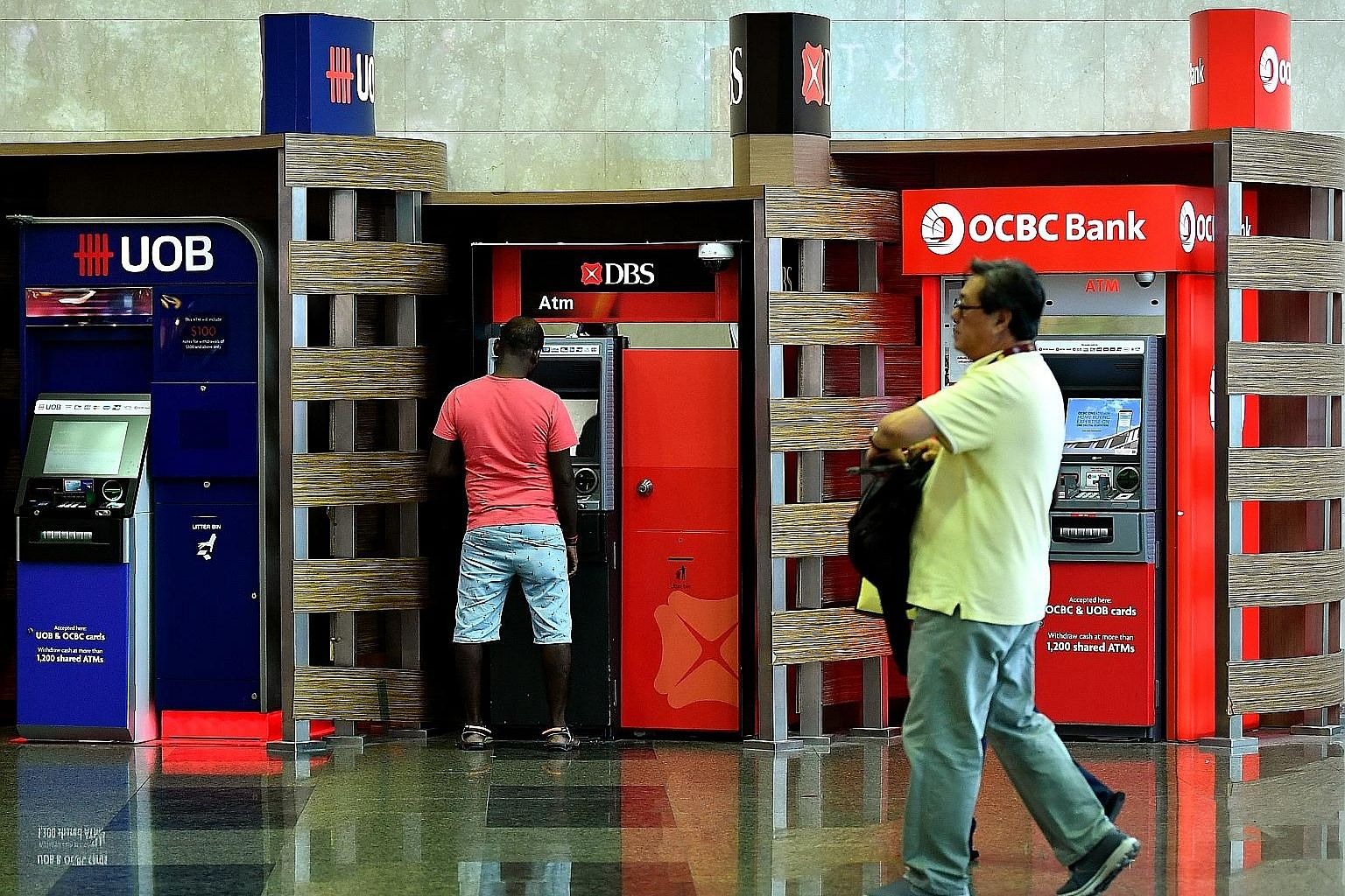 The market's focus when Singapore's major banks report their results this week will be on any signs that the June quarter marked the trough for net interest margins. DBS Bank and United Overseas Bank will report their quarterly figures tomorrow, whil