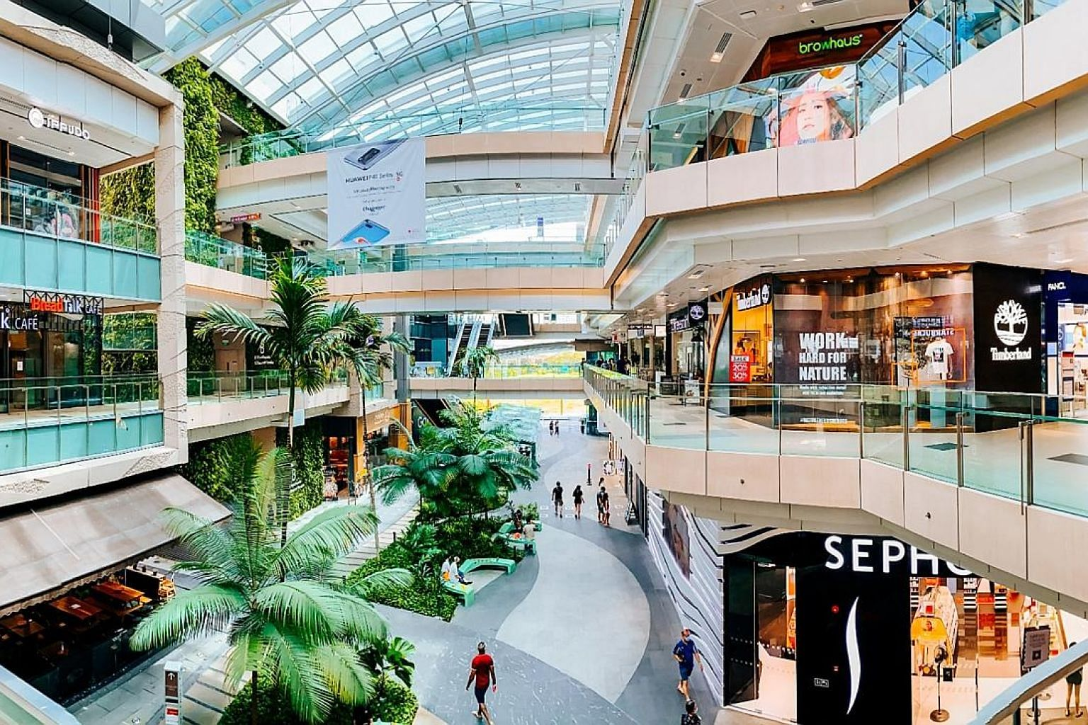 The index ranked 577 Singapore-listed firms in the general category and 45 trusts in the real estate investment trust and business trust section. CapitaLand subsidiaries - CapitaLand Commercial Trust, CapitaLand Mall Trust, which owns Westgate mall (