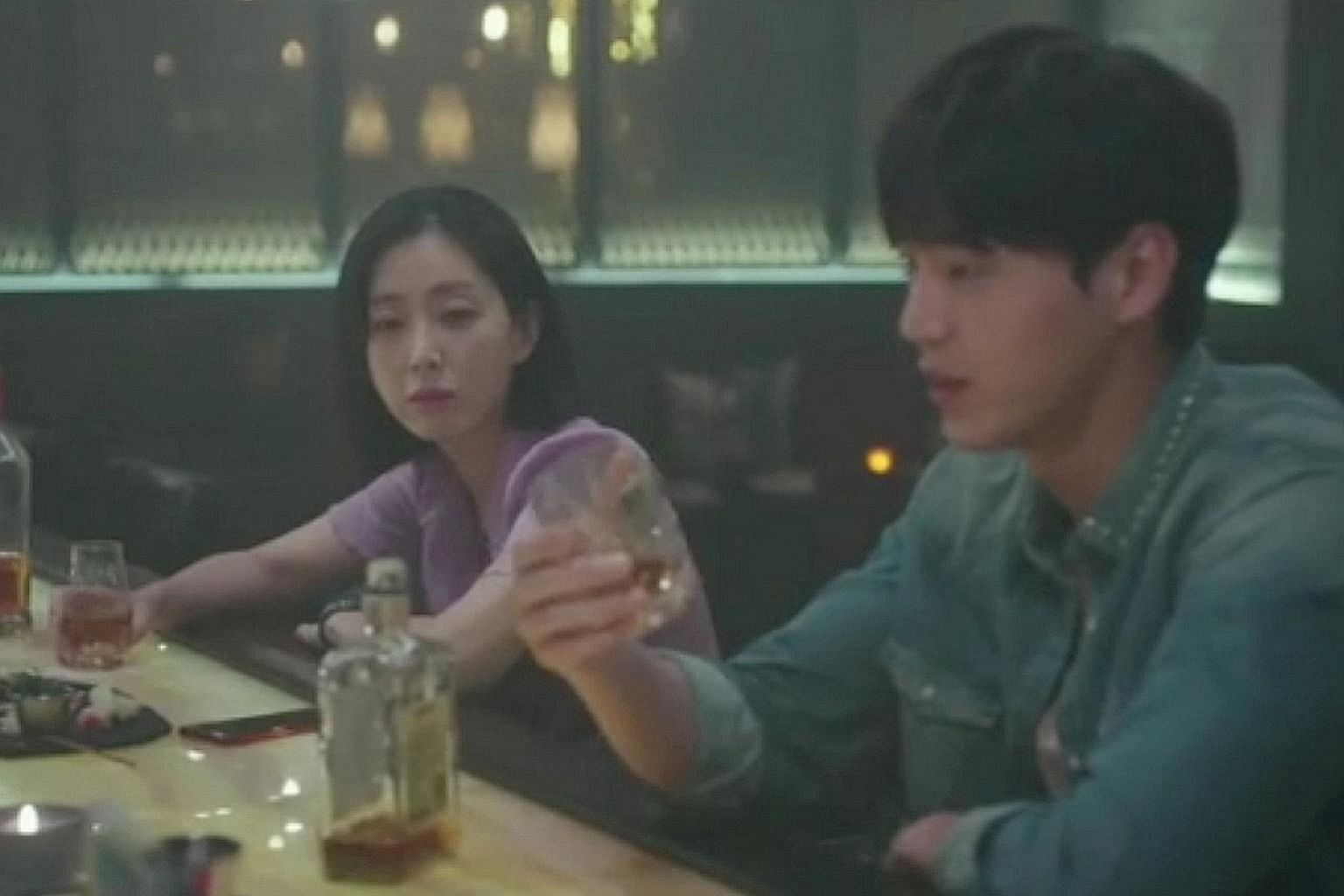 (Above) Graceful Friends stars Song Yoon-ah (above, left) and Lee Tae-hwan (above, right). (Right) A Quest To Heal stars Carrie Wong (right) and Qi Yuwu (far right).