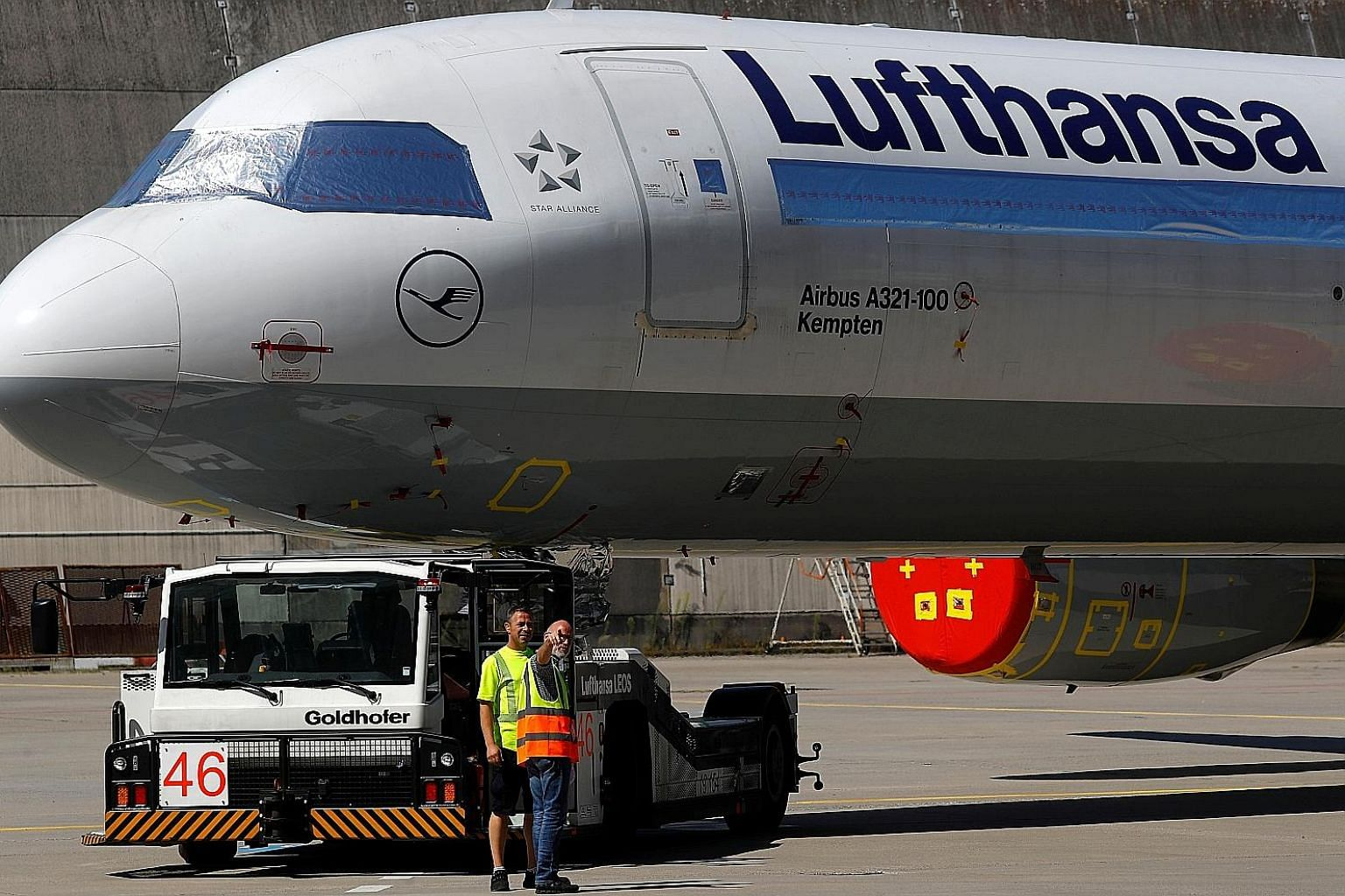 Germany's Lufthansa is among the airlines planning to downsize their staff as global air travel demand remains weak amid the coronavirus pandemic.