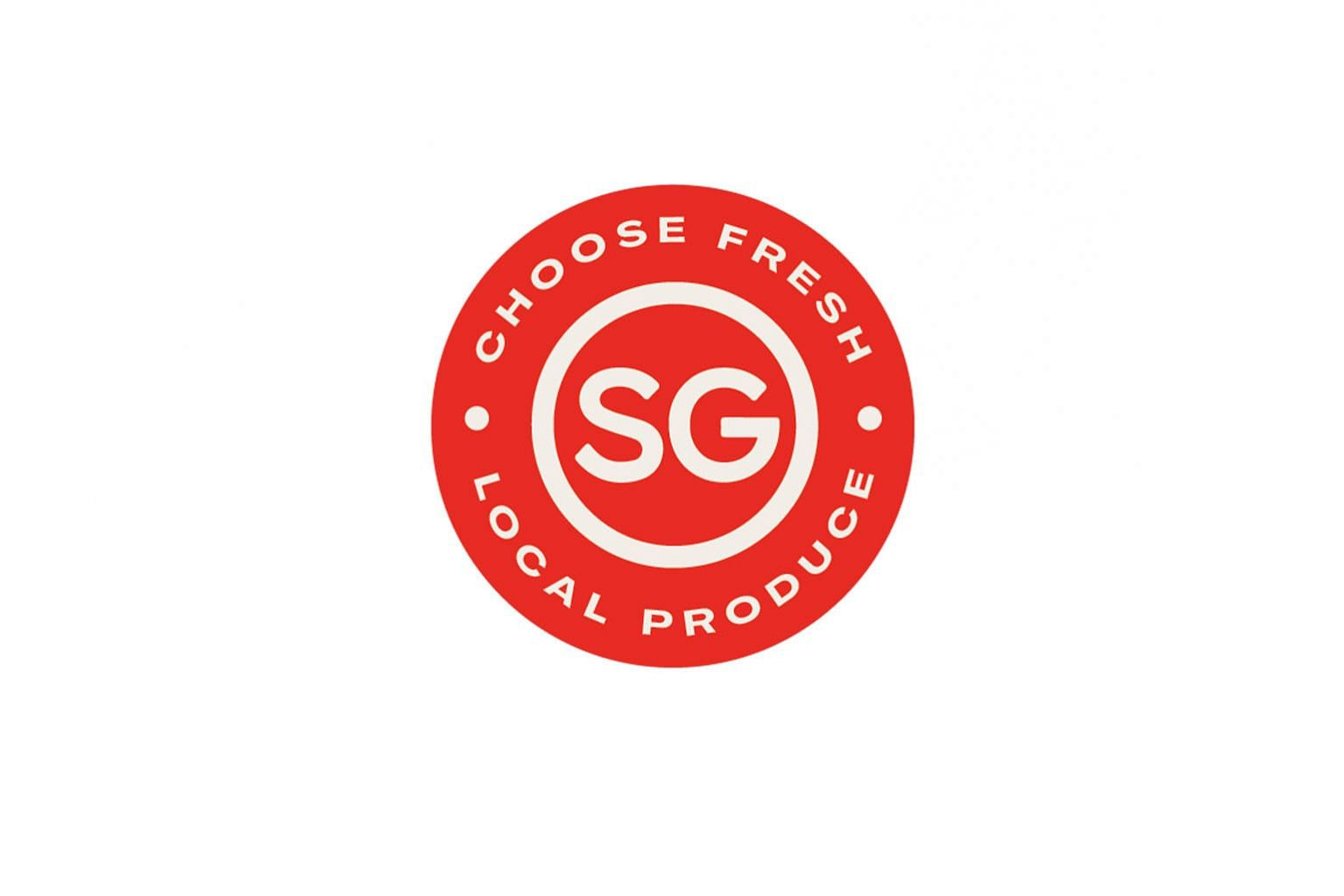 "The ""SG Fresh Produce"" logo was created in consultation with more than 30 local farmers, retailers and industry associations. The push to support local produce comes as Singapore ramps up local food production in order to hit its ""30 by 30"" goal - to"