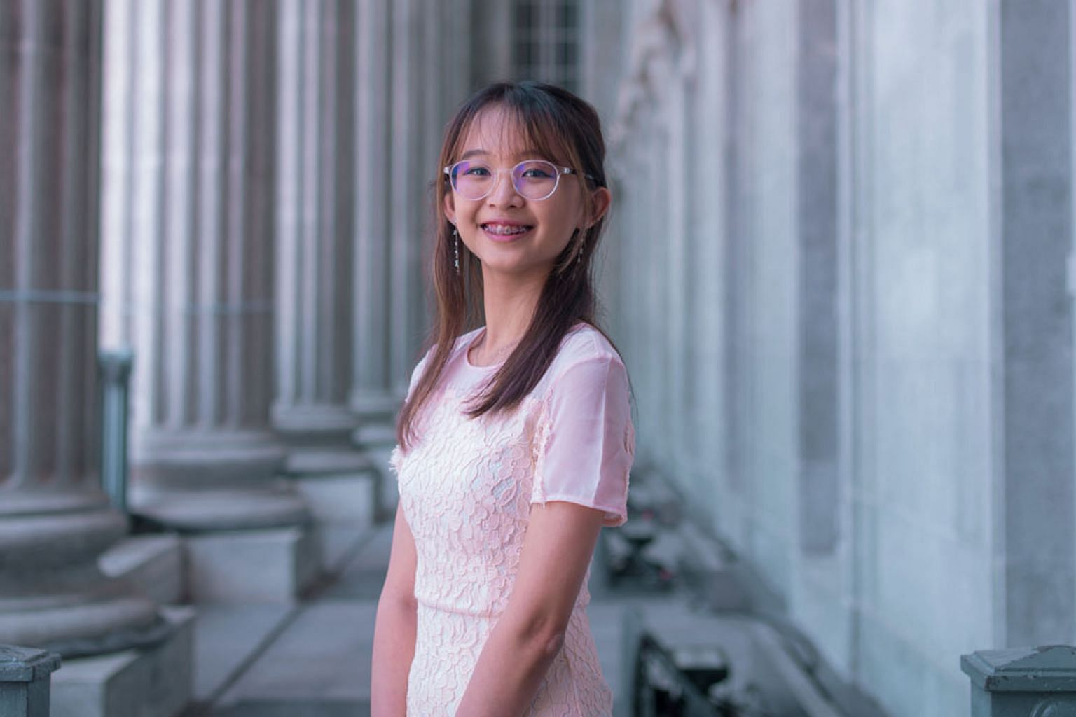 President's Scholarship holder Alyssa Marie Loo Li Ann is headed to Brown University in the United States in January to read linguistics.