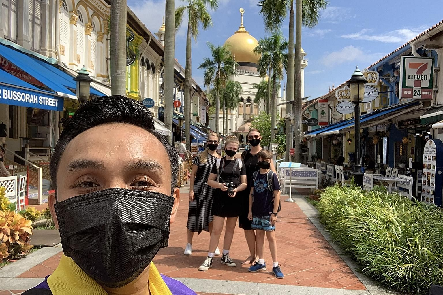 Mr Basirun Mansor (above) is one of the guides leading tours for Monster Day Tours, which launched a series of SG55 tours, in which all proceeds go to the guides.