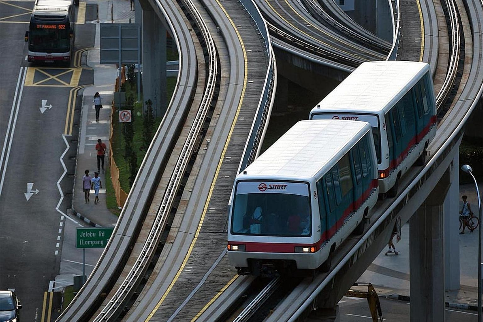 The Bukit Panjang LRT system is being overhauled by Bombardier Transportation, which French train-maker Alstom plans to buy. The two companies are competitors in supplying railway vehicles, including passenger carriages and infrastructure, for MRT li