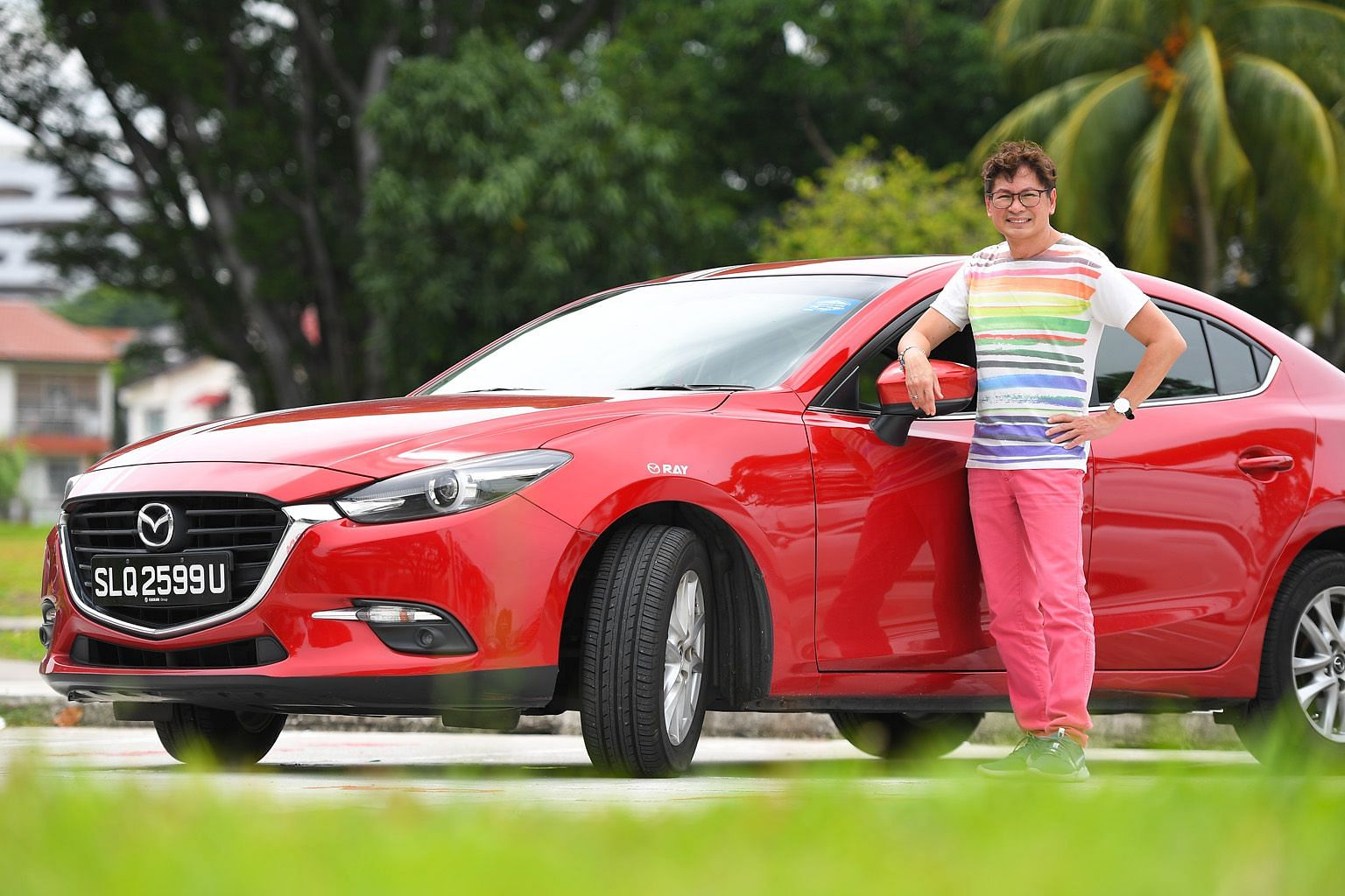 Mr Raymond Leong, who was laid off from his job as a senior sales manager at a cruise and events company in February, is now working as a Grab driver as he continues to search for job opportunities. With more than 30 years in the tourism and travel i