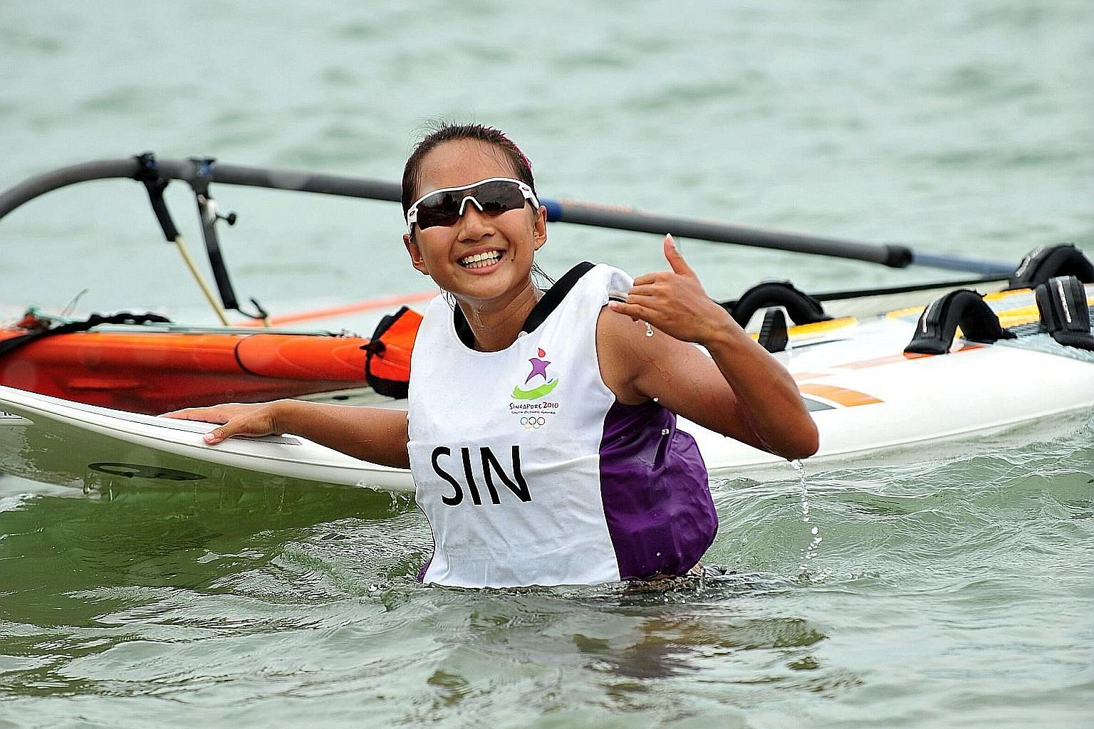 Audrey Yong went on to compete at the Olympics, Asian Games and SEA Games after winning a bronze in the 2010 Youth Olympics on home soil. ST FILE PHOTO