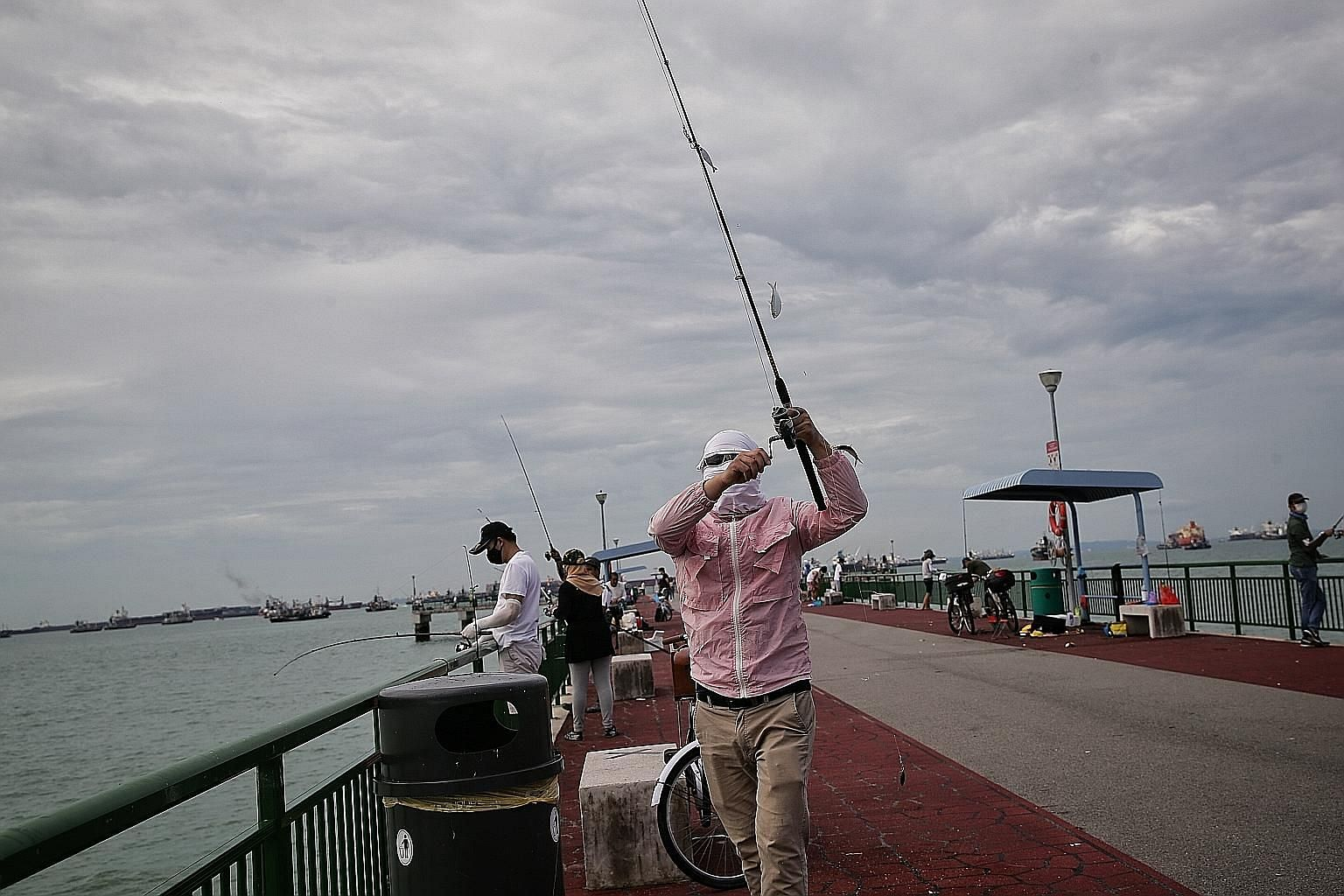 With travel off the cards, anglers in Singapore are casting their lines into the waters more often, raising concerns over the impact on fish stock. Non-profit group Marine Stewards has come up with three sustainability guidelines for fishermen, in co
