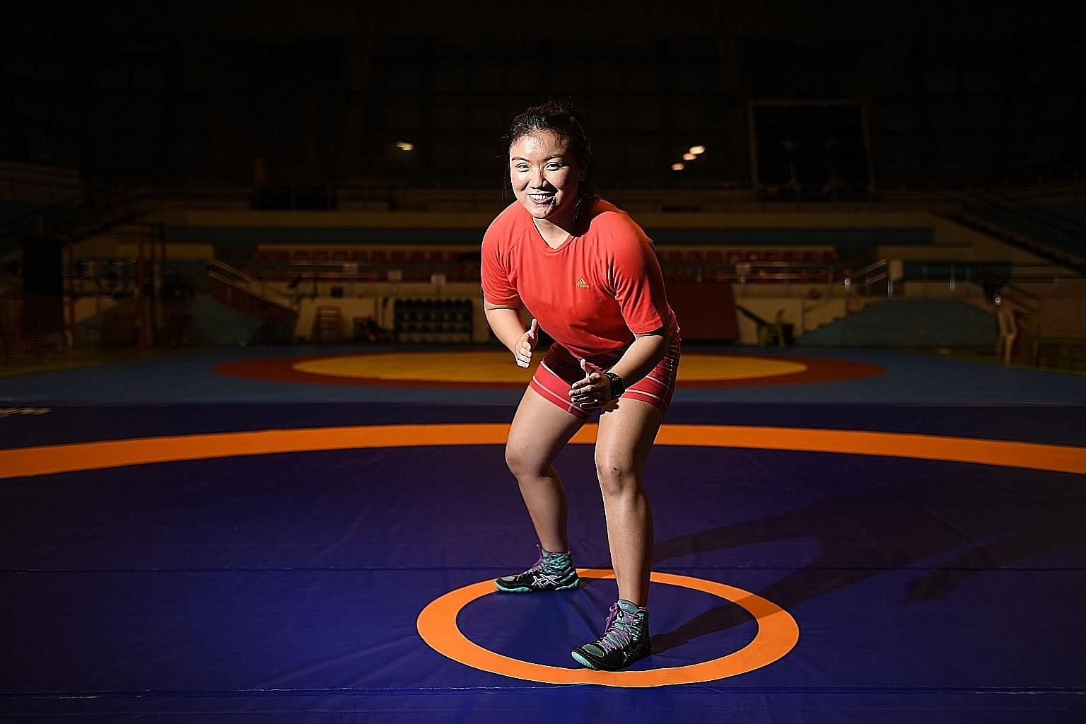 Ms Danielle Lim, who has won six medals in wrestling competitions overseas, was once consistently at the bottom of her cohort in secondary school. She managed to turn things around thanks to her teachers' help and is now a student at the Singapore In