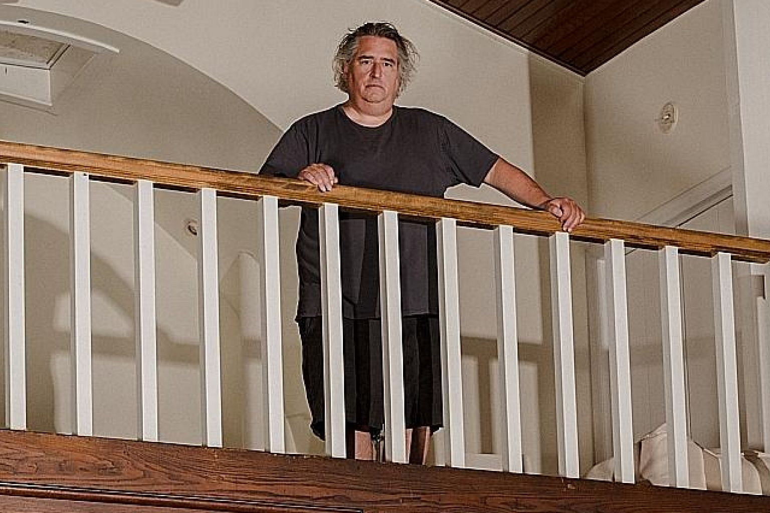 Photographer Gregory Crewdson at his home in Egremont, Massachusetts, earlier this month.