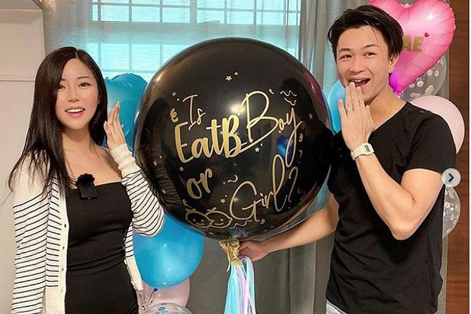 """AH BOY TO MAN - MAXI LIM IS NOW A DAD: Local actor Maxi Lim has begun his """"reign"""" as a father. The 33-year-old, who married influencer Lizy Teo in late March, announced the birth of their son (above) last Saturday via an Instagram account the couple"""