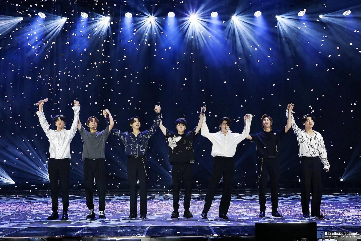 Korean boy band BTS' successful virtual concert in June offers lessons for the Government, said Mr Baey Yam Keng.