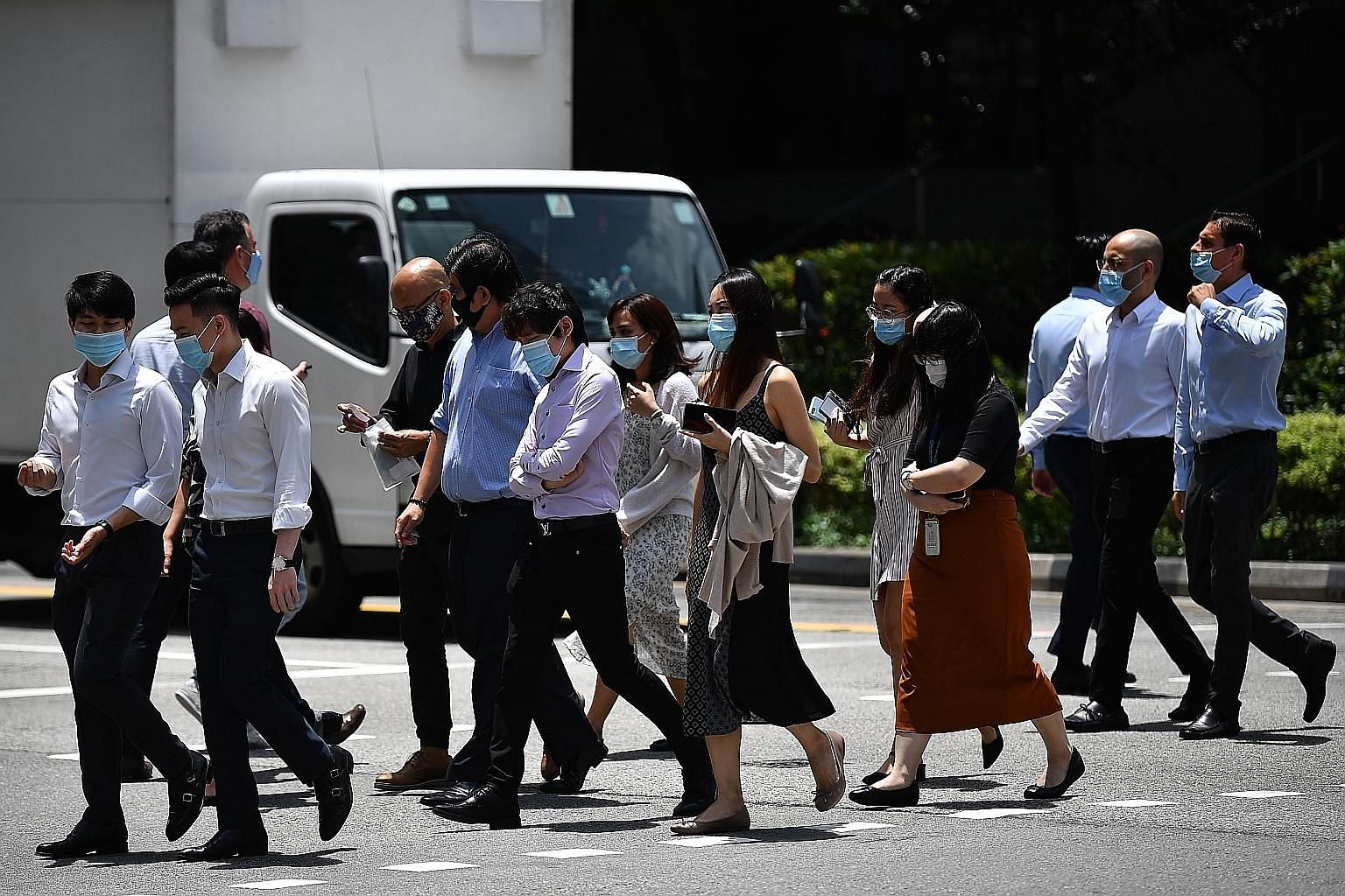 Singapore's rules constrain the inflow of foreigners at the lower end, said Transport Minister Ong Ye Kung, who is a Monetary Authority of Singapore board member. This means a larger share of foreigners tend to be earning higher wages and consequentl