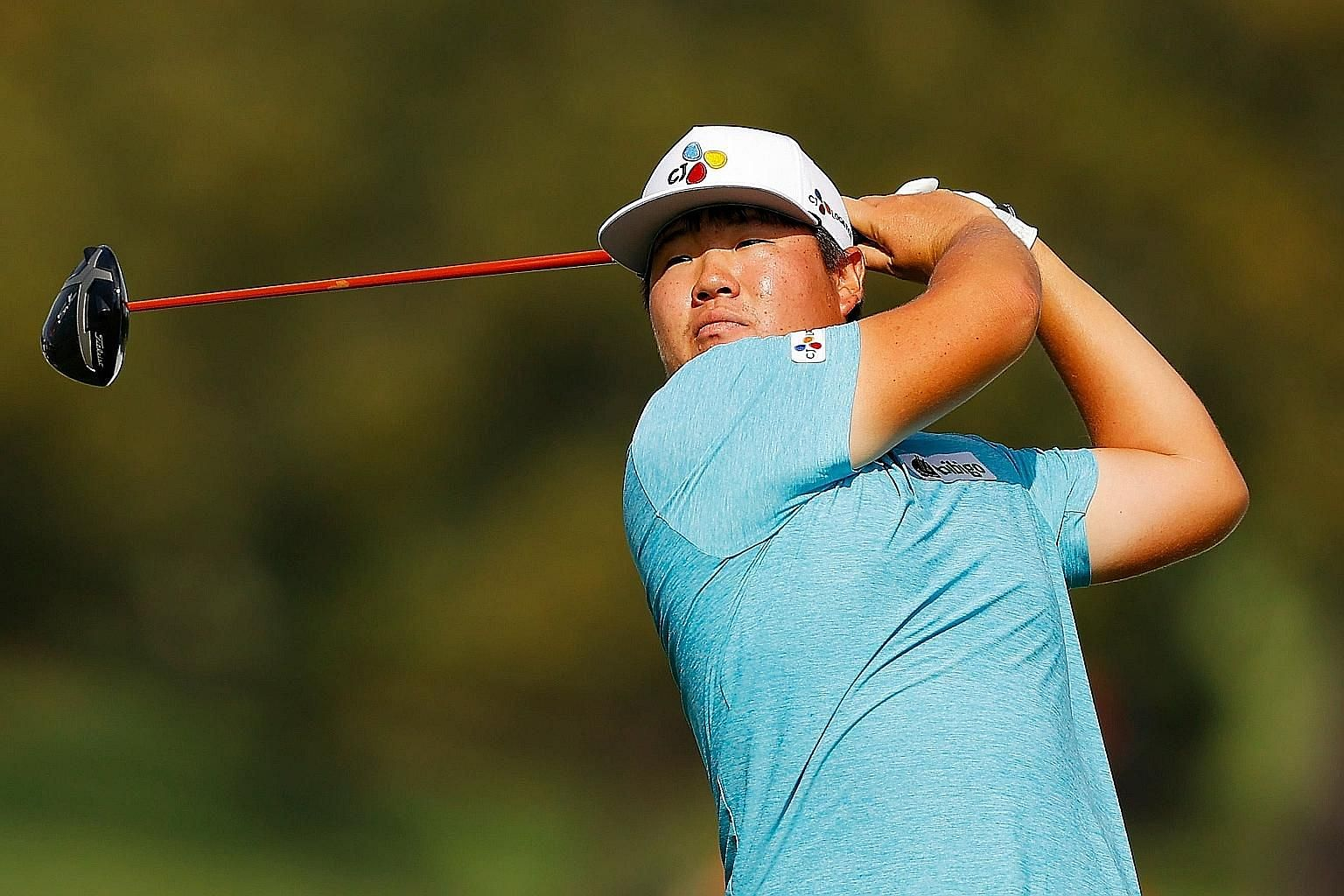 Im Sung-jae, 22, is in contention for the FedExCup after firing a 64 in Saturday's second round of the Tour Championship in Atlanta, Georgia. PHOTO: AGENCE FRANCE-PRESSE