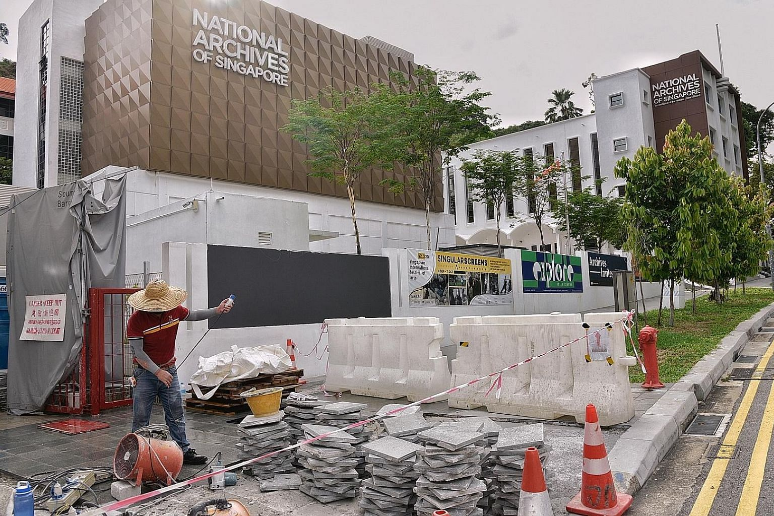 The revamp of the National Archives of Singapore building - which reopened in April last year after an 18-month makeover - was found to have exceeded the budget by $1.72 million due to a lack of scrutiny from National Library Board officers, said the