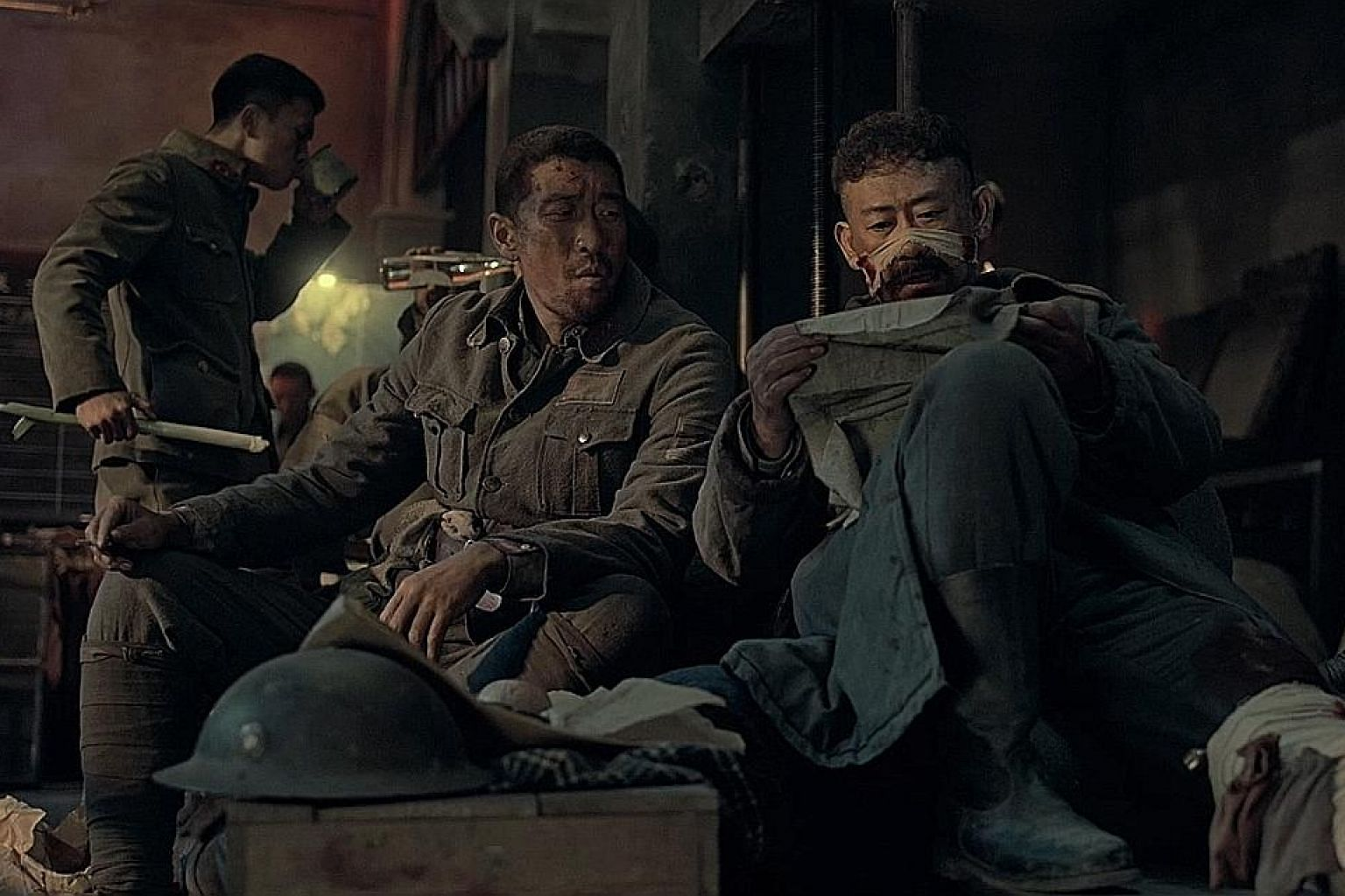 South Korean zombie flick #Alive stars Yoo Ah-in (left) as a gaming addict who finds himself alone in his apartment when the apocalypse strikes. In The Secret Garden, Dixie Egerickx (above) plays Mary, an orphan sent to live with an uncle in a creepy