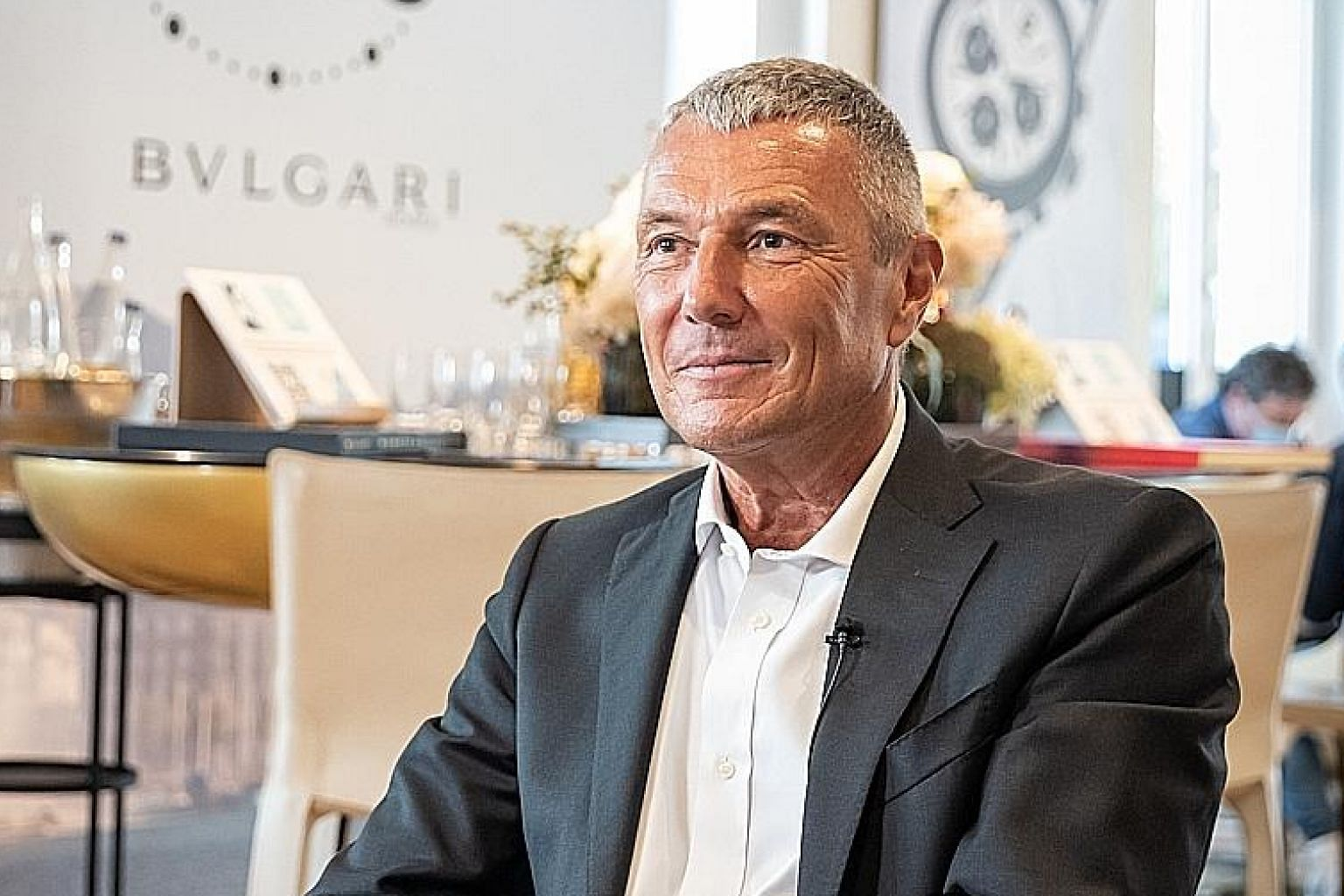 Bvlgari's group chief executive Jean-Christophe Babin played a key role in organising Geneva Watch Days last month, an industry fair which combined physical and digital tools to help watch brands promote themselves during the pandemic.