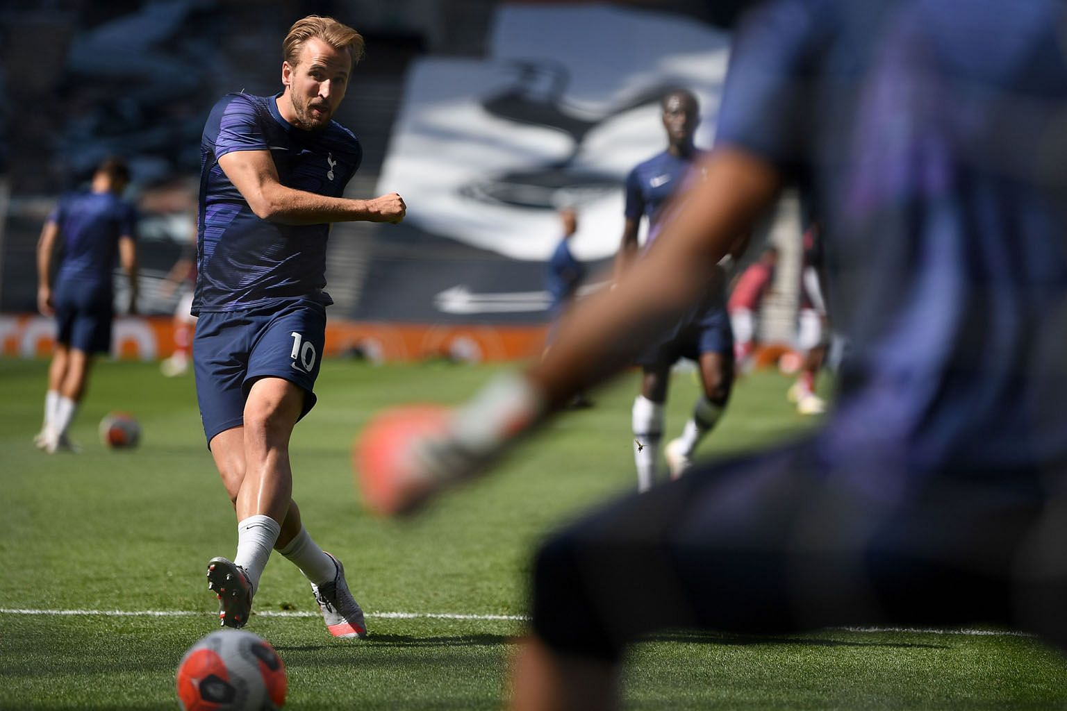 Fit-again Harry Kane will be key to Spurs' hopes of returning to the top four. He was limited to 29 league appearances last term but was still top scorer with 18 goals. PHOTO: AGENCE FRANCE-PRESSE