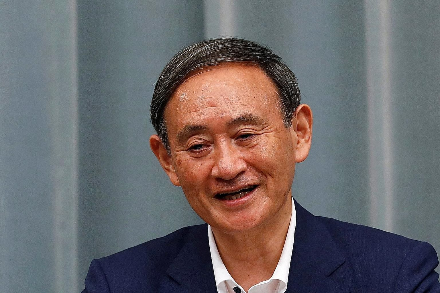 The son of strawberry farmers, Mr Yoshihide Suga, 71, is a self-made politician. He will name his Cabinet team tomorrow.