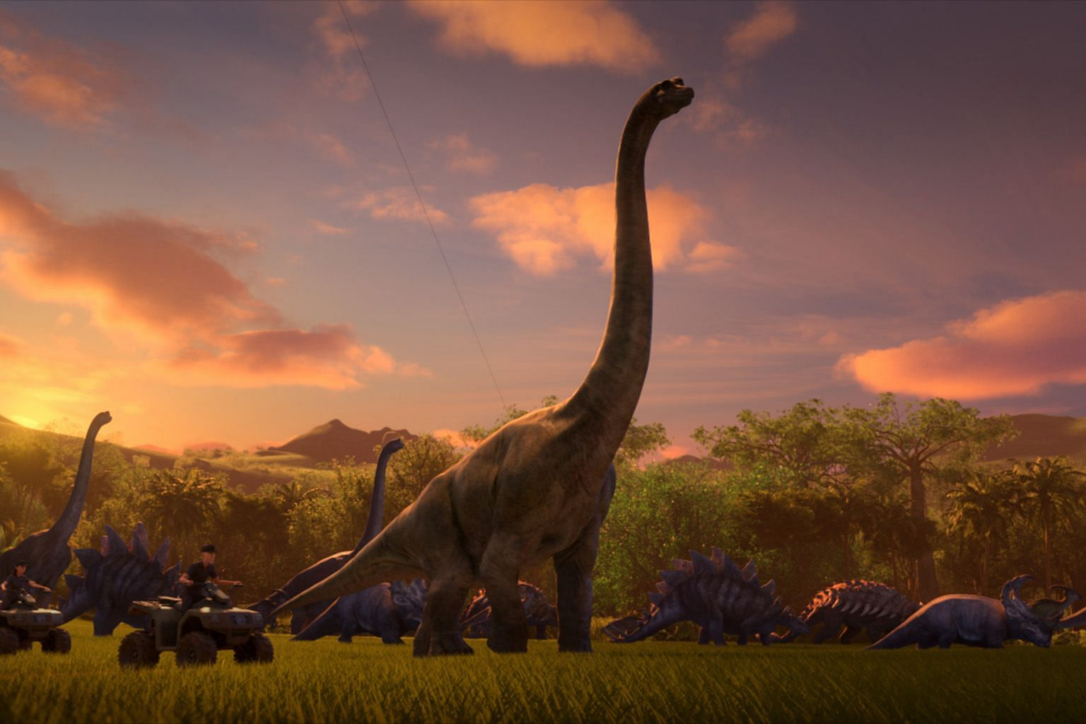 Executive producer Colin Trevorrow does not want the creatures to look cartoonish in Jurassic World: Camp Cretaceous.