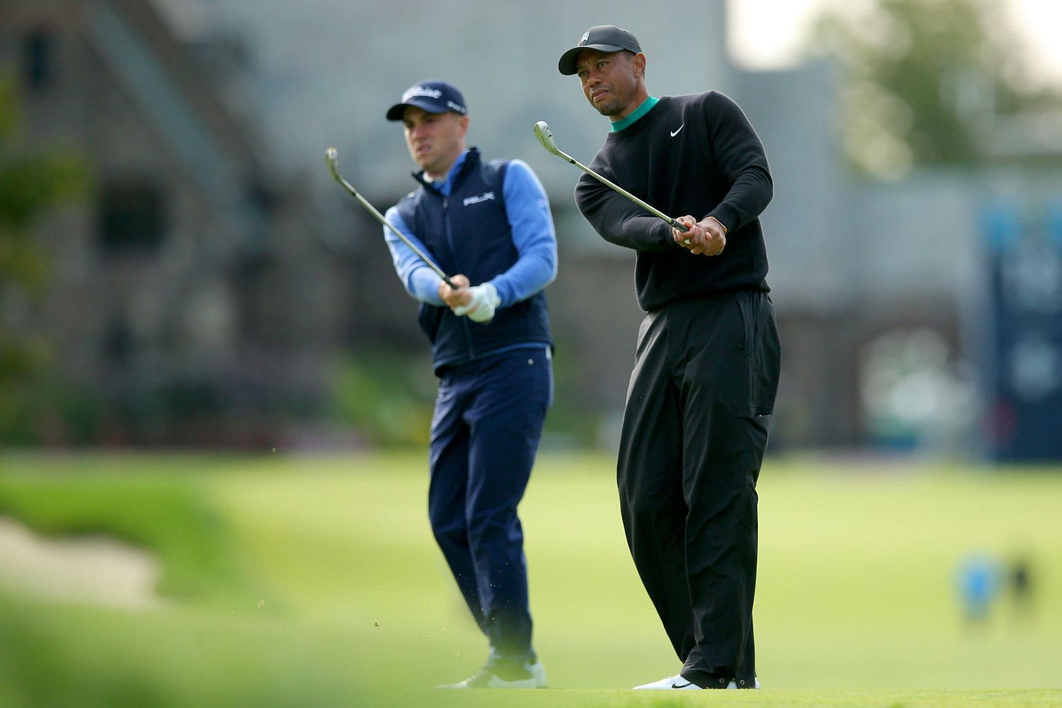 Having experienced a missed cut at Winged Foot during the 2006 US Open, Tiger Woods knows how hard the course is. PHOTO: REUTERS