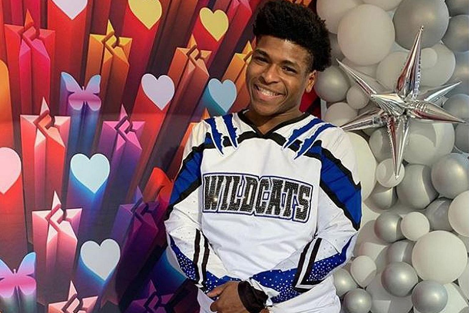 Celebrity cheerleader Jerry Harris is alleged to have sexually accosted a pair of 14-year-old twin brothers.