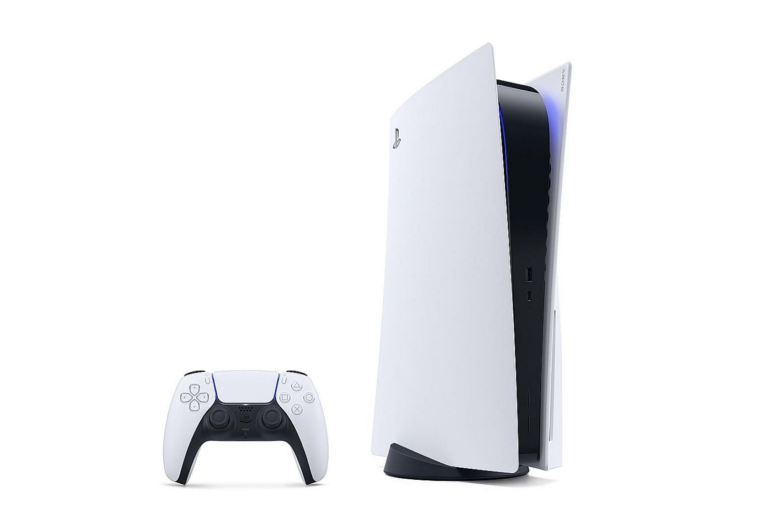 Sony's PlayStation 5 (left) will come in a standard version costing $729, as well as a digital edition without a Blu-ray disc drive costing $599. Rival Microsoft's Xbox Series X will cost $699, while the less powerful Series S will go for $459. PHOTO