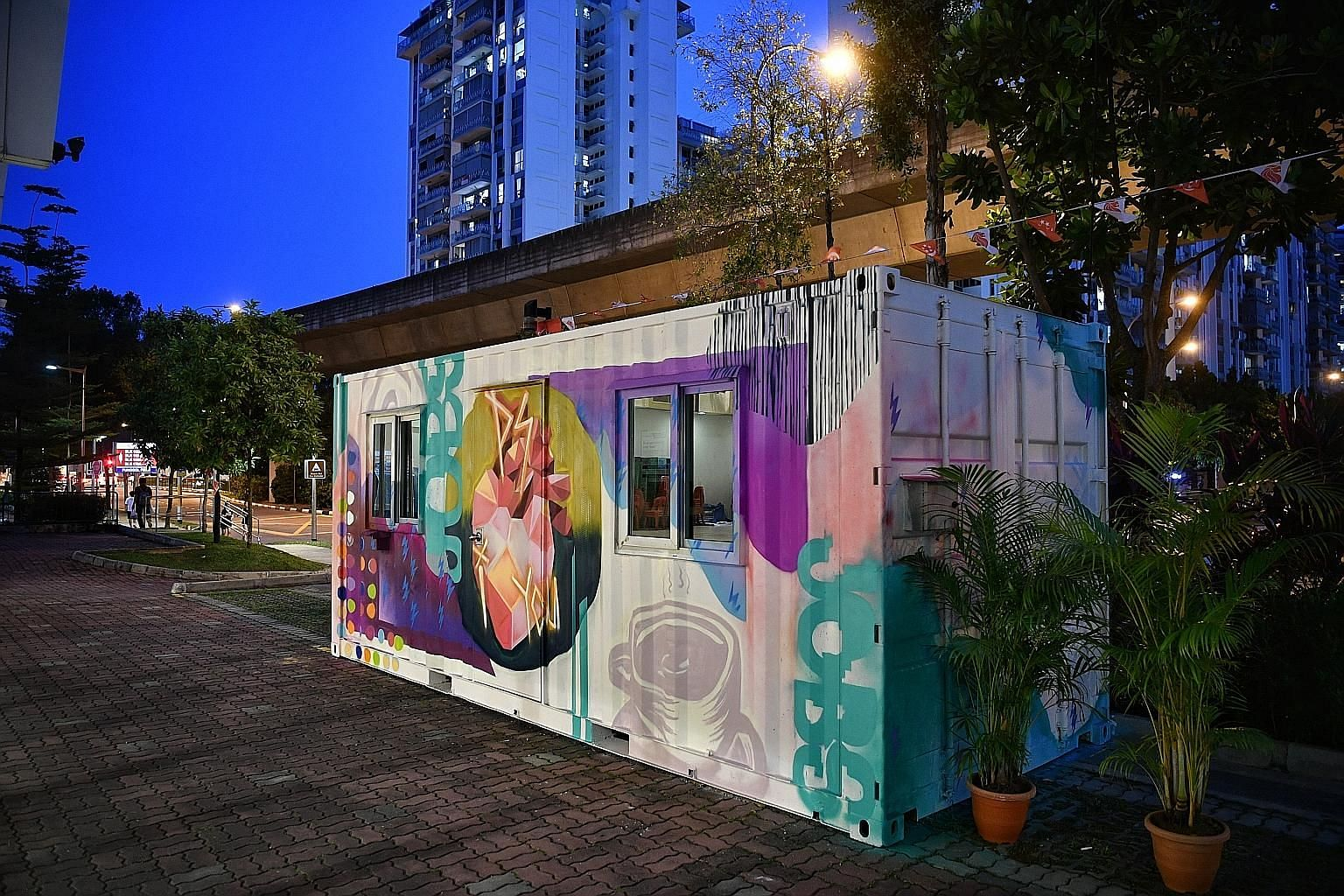 Launched yesterday, the Job Container outside Punggol 21 Community Club will be open on weekdays, and brings together the services of Workforce Singapore's SGUnited Jobs and Skills Centre, and Project Success, Singapore's first community-led job plac