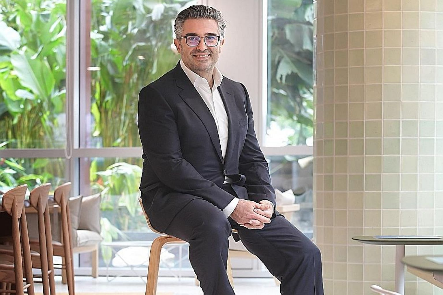 Mr Tony Lombardo, Lendlease's chief executive for Asia, says the company's priority during the Covid-19 outbreak was staff safety first, then managing the liquidity of the business. Despite the crisis, Lendlease has managed to keep staff cuts to a ha